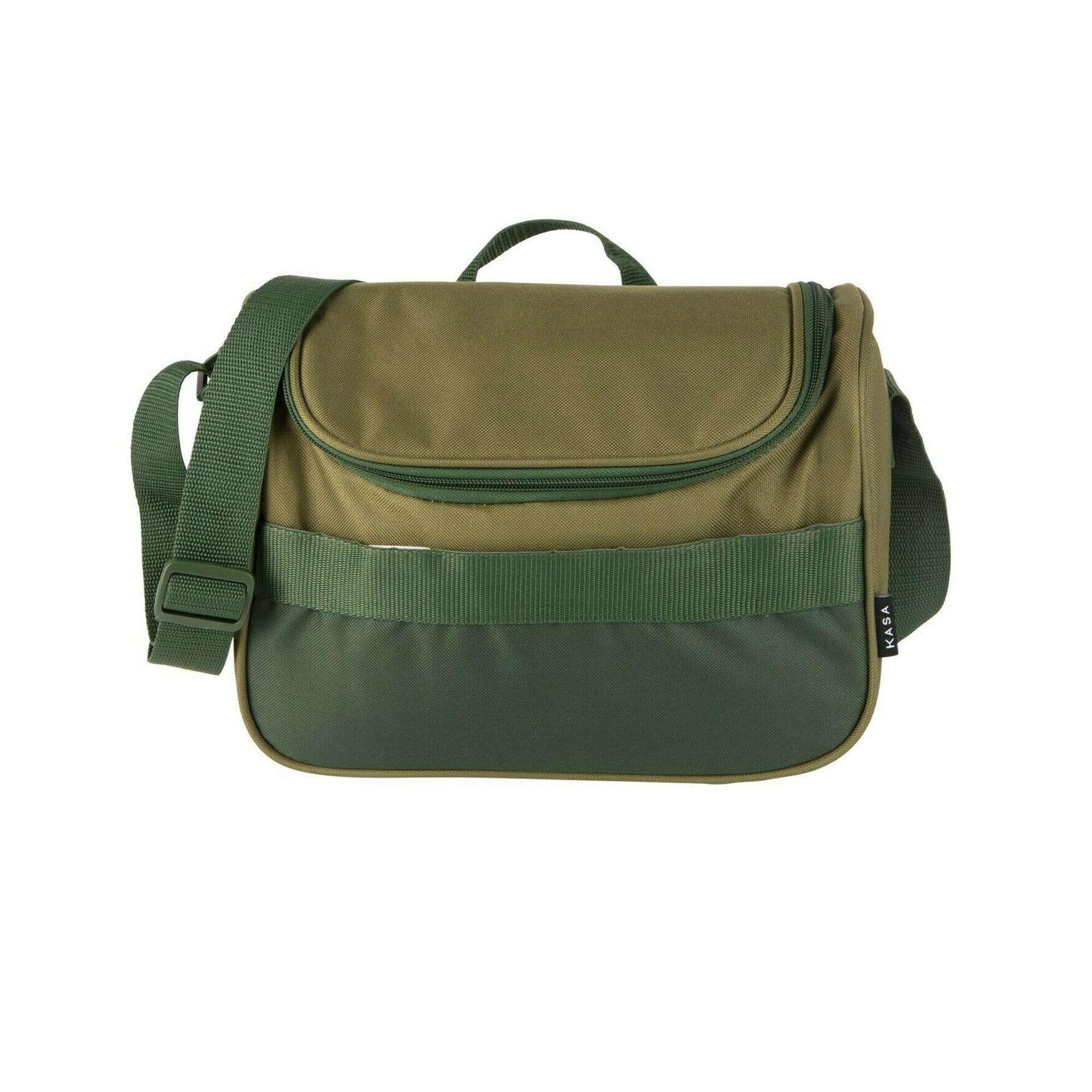 Saco Térmico Tiracolo 9L Verde Basic