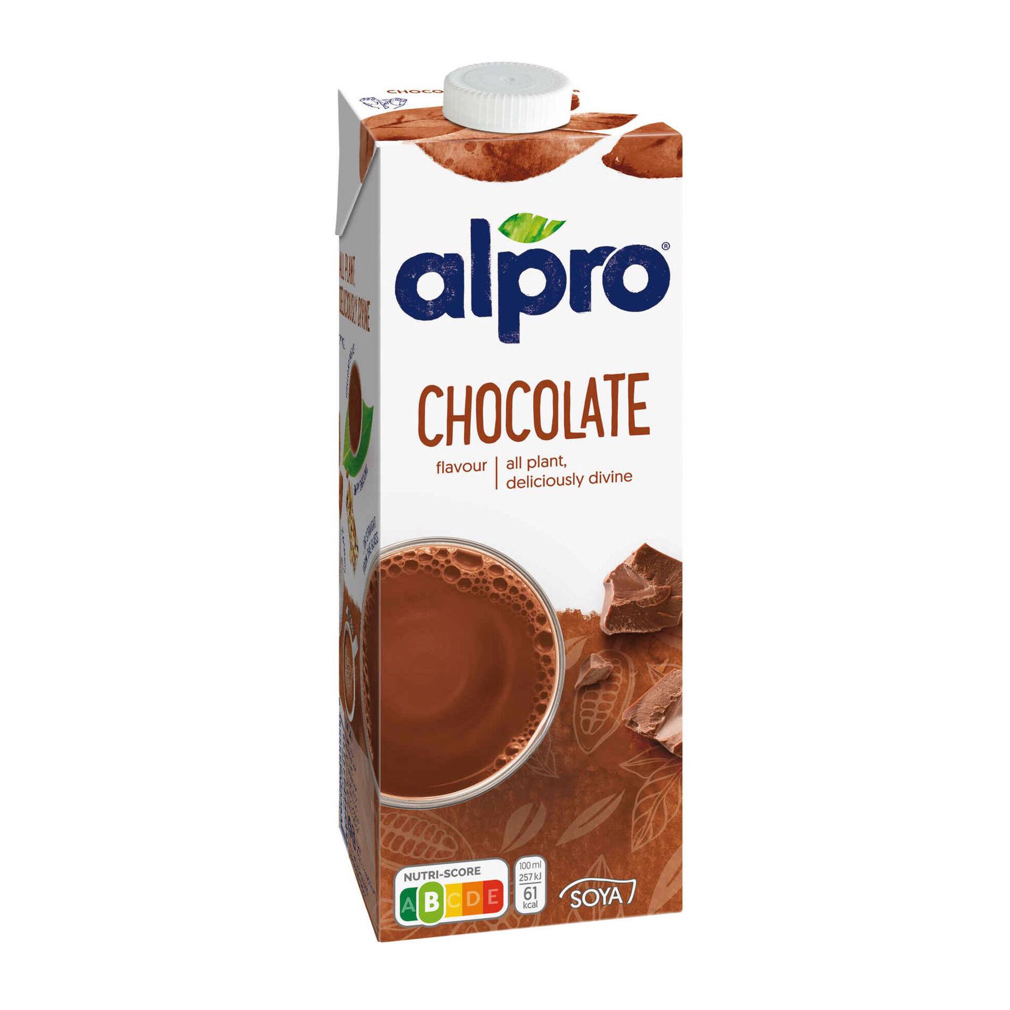 Bebida Vegetal de Soja Chocolate sem Lactose