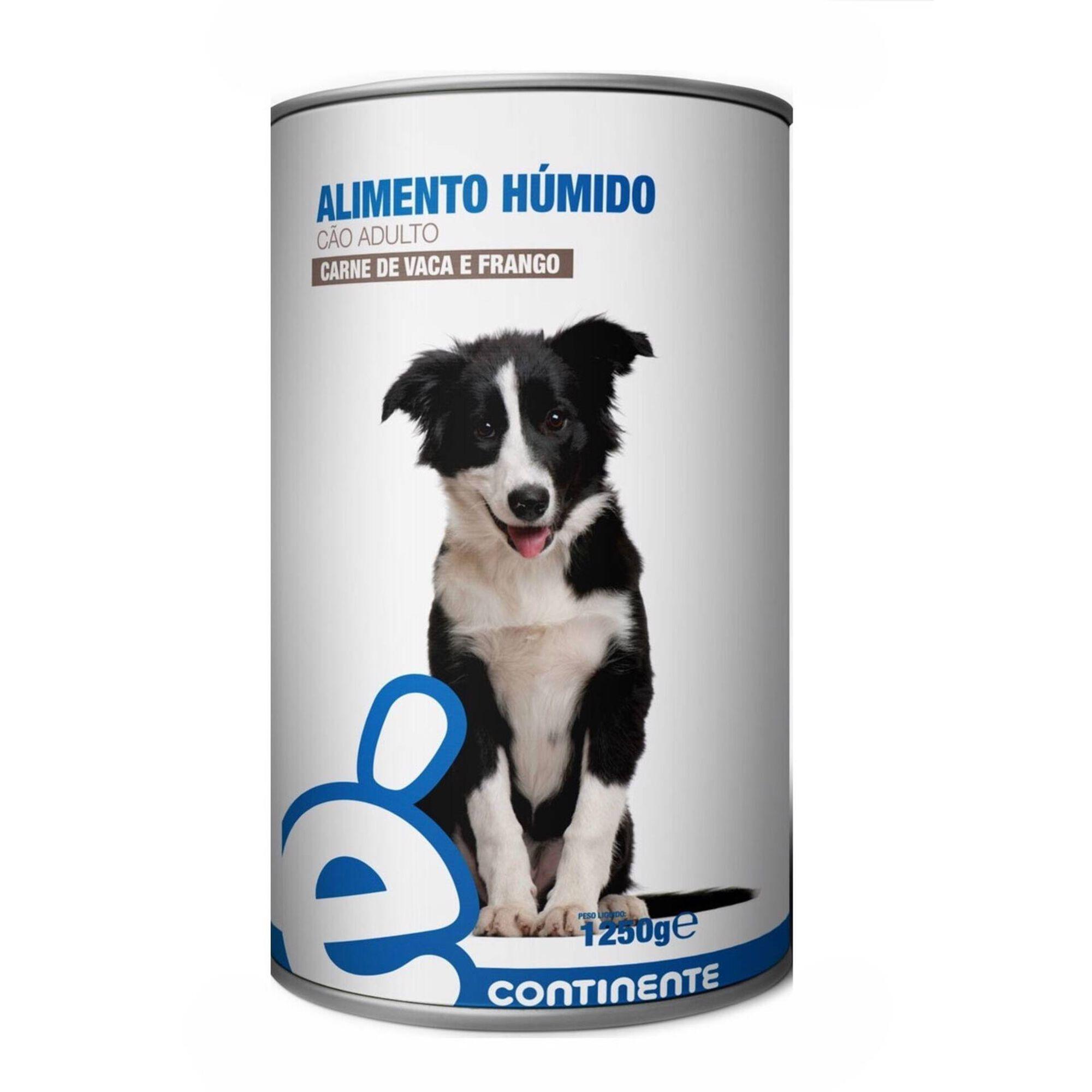 Comida Húmida para Cão Adulto Vaca e Frango Lata