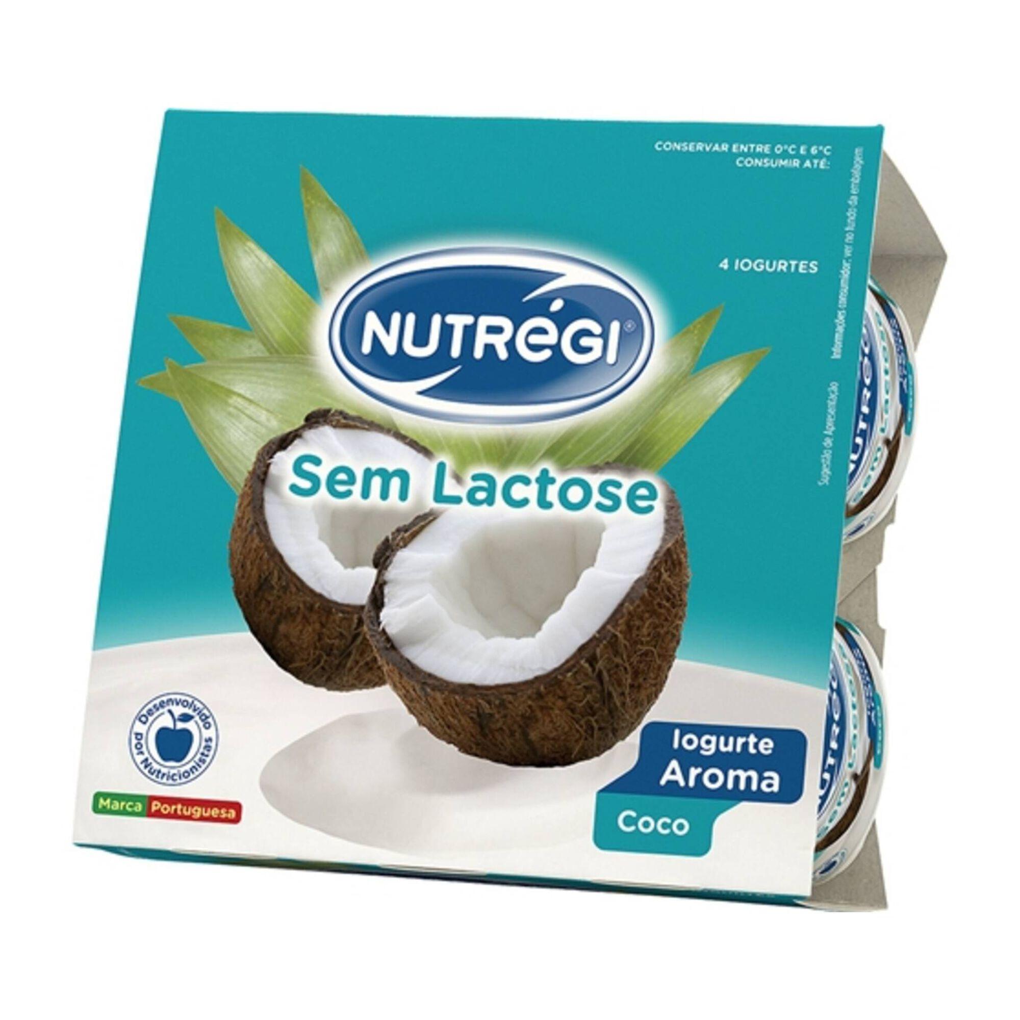 Iogurte Aroma Coco sem Lactose