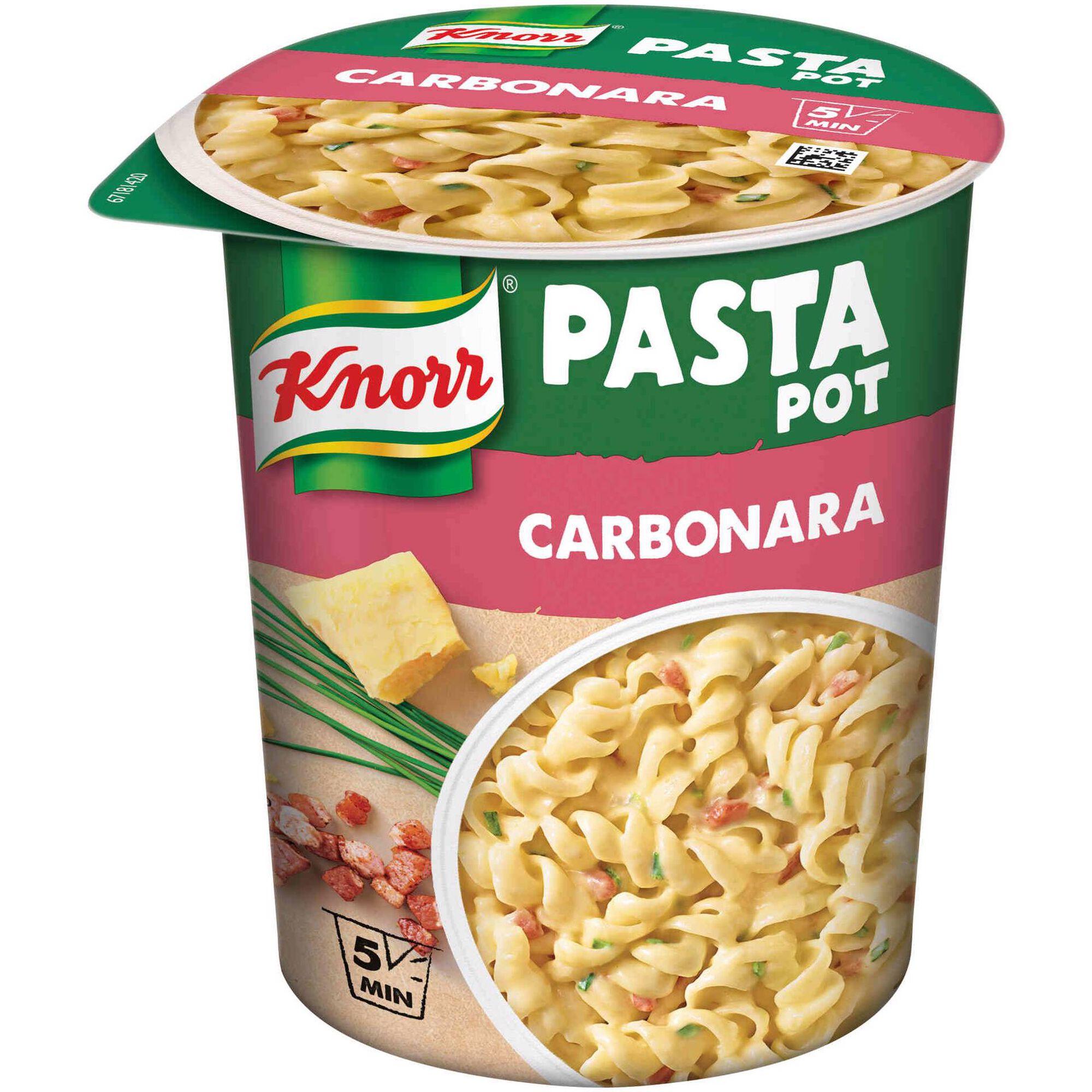 Pasta Carbonara Pot