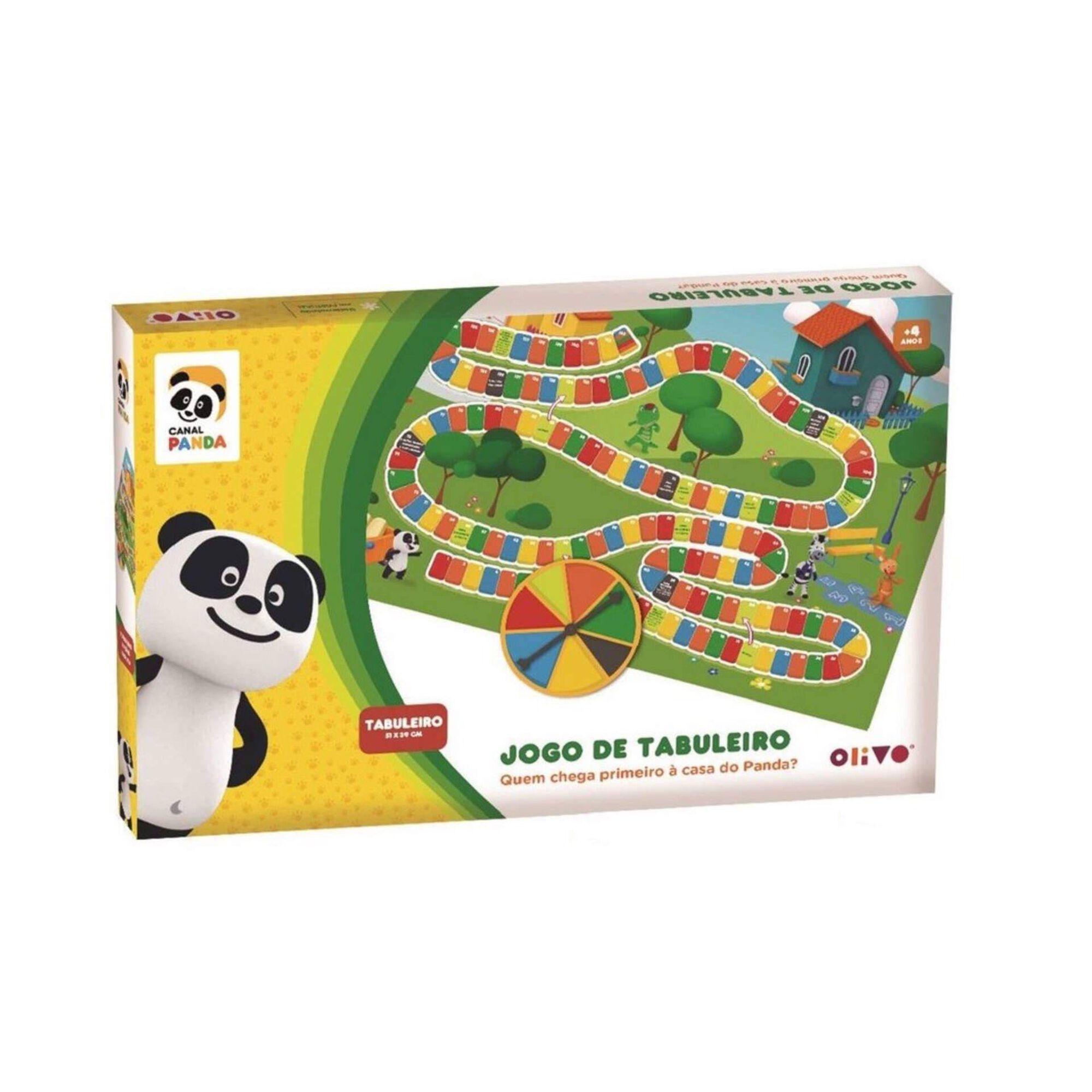 Jogo de Tabuleiro Panda