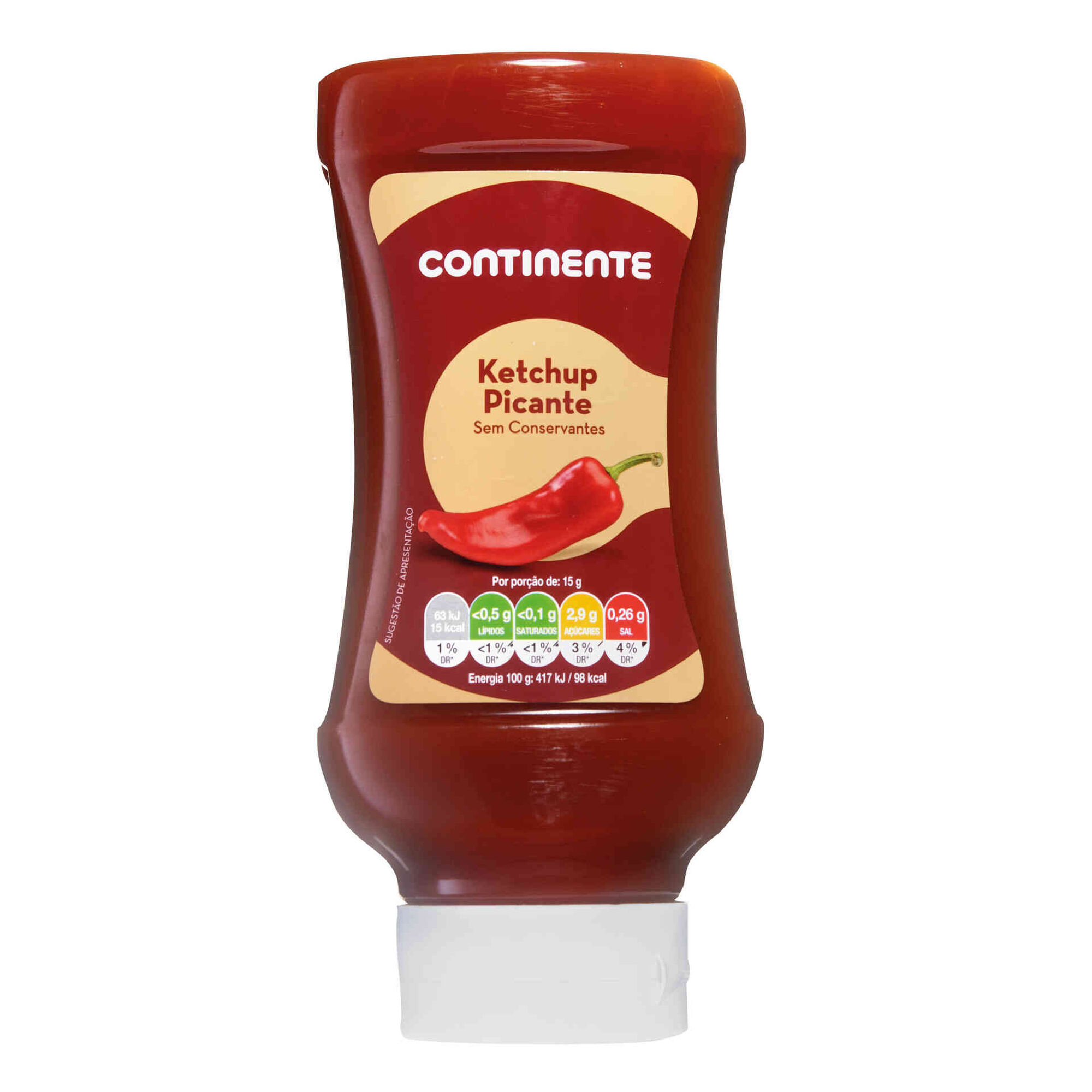 Ketchup Picante Top Down