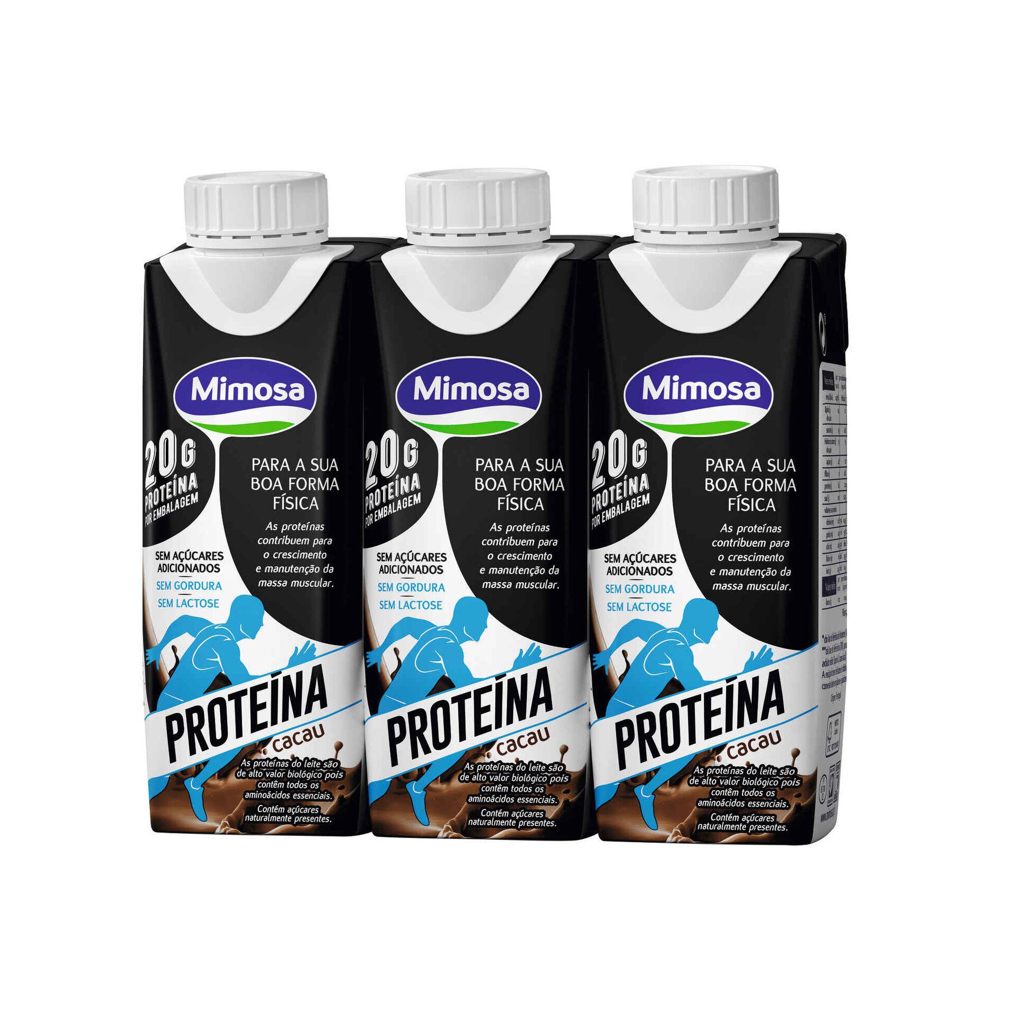 Leite +Proteína Cacau sem Lactose
