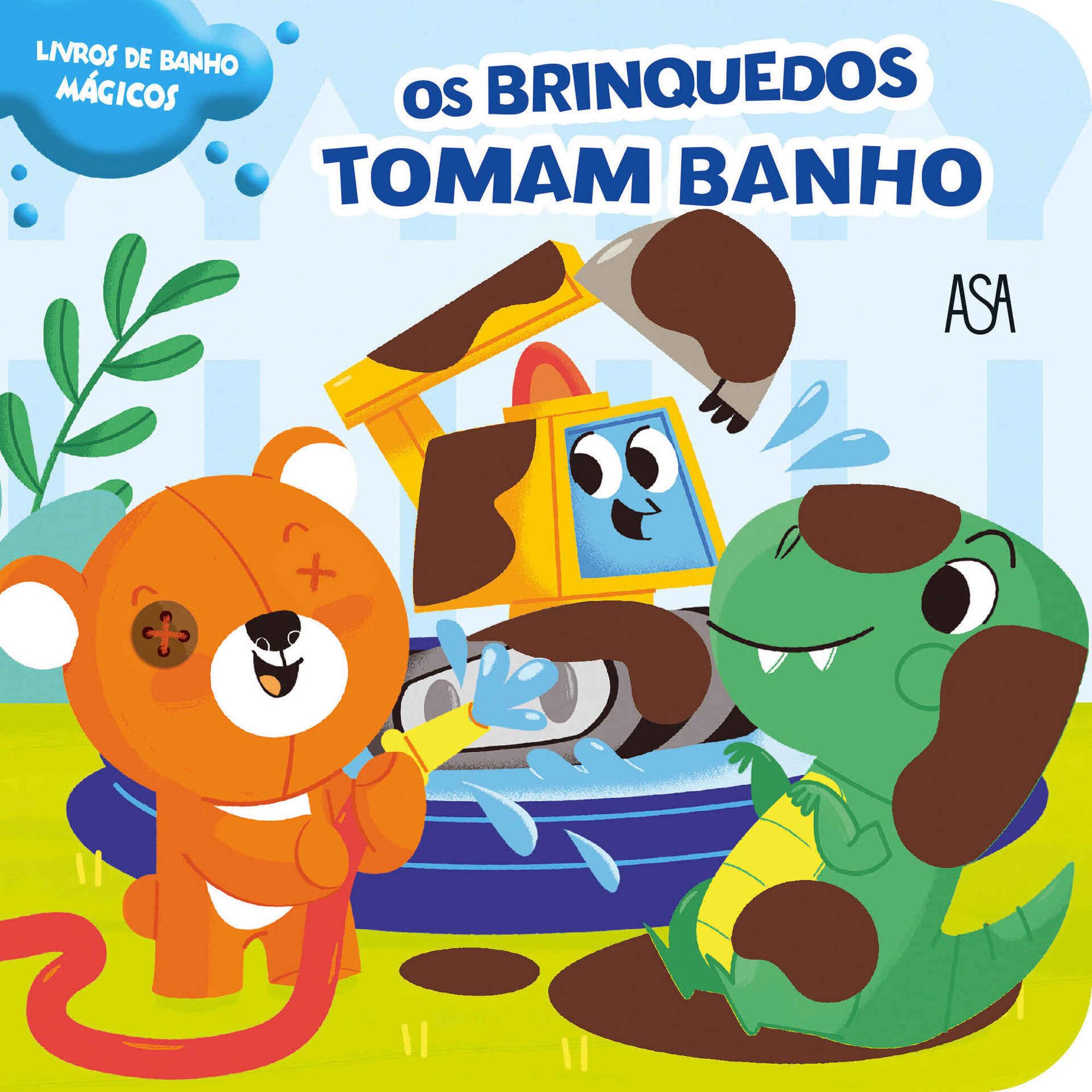 Os Brinquedos Tomam Banho