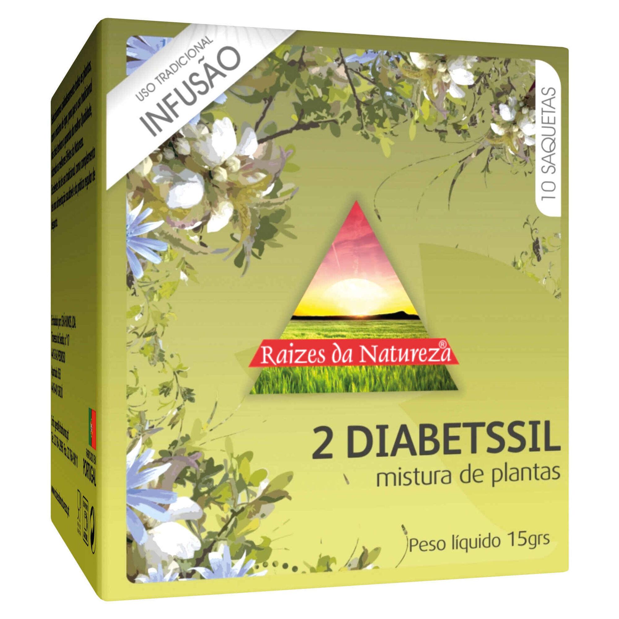 Infusão Nº2 Diabetssil Saquetas