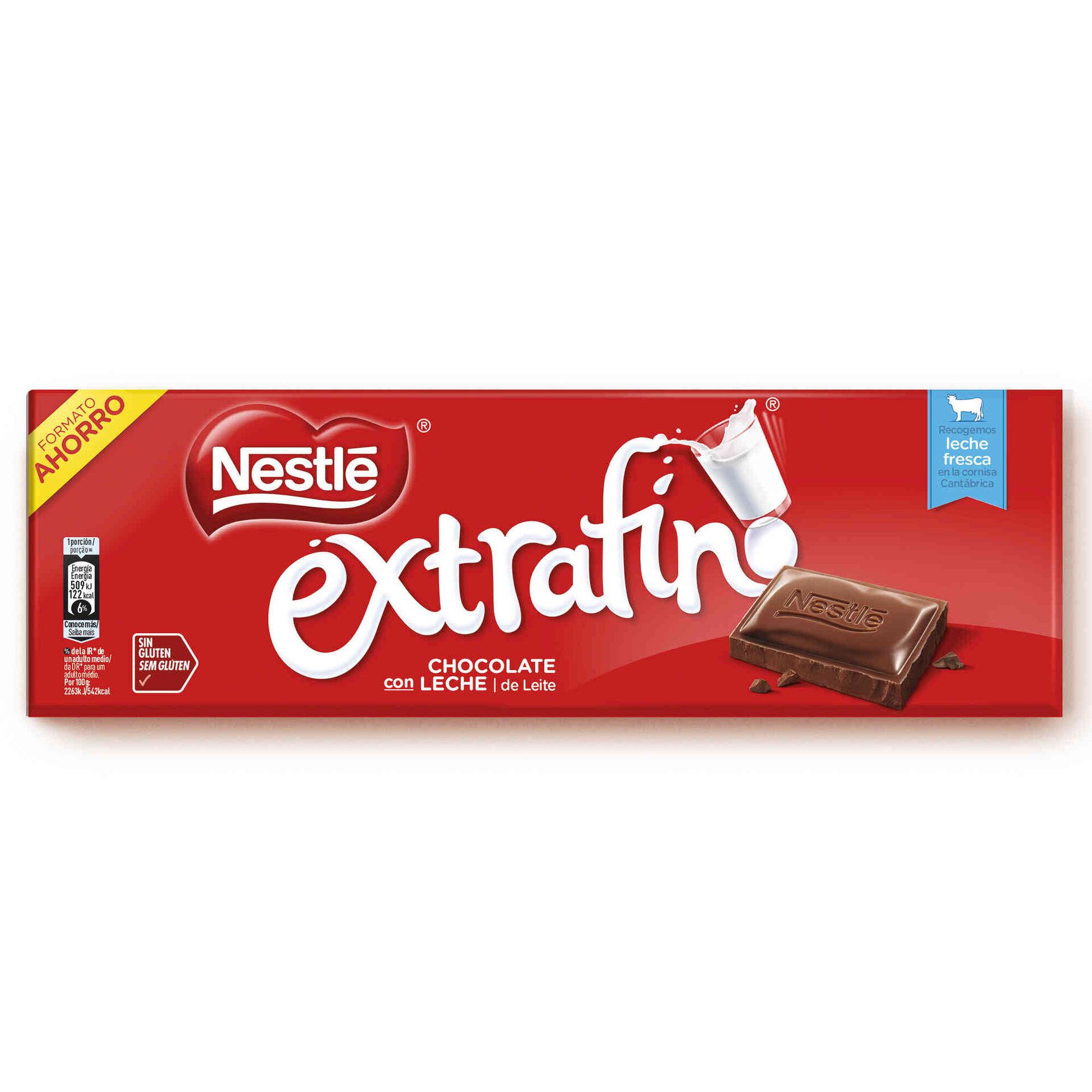 Tablete de Chocolate de Leite Extrafino sem Glúten