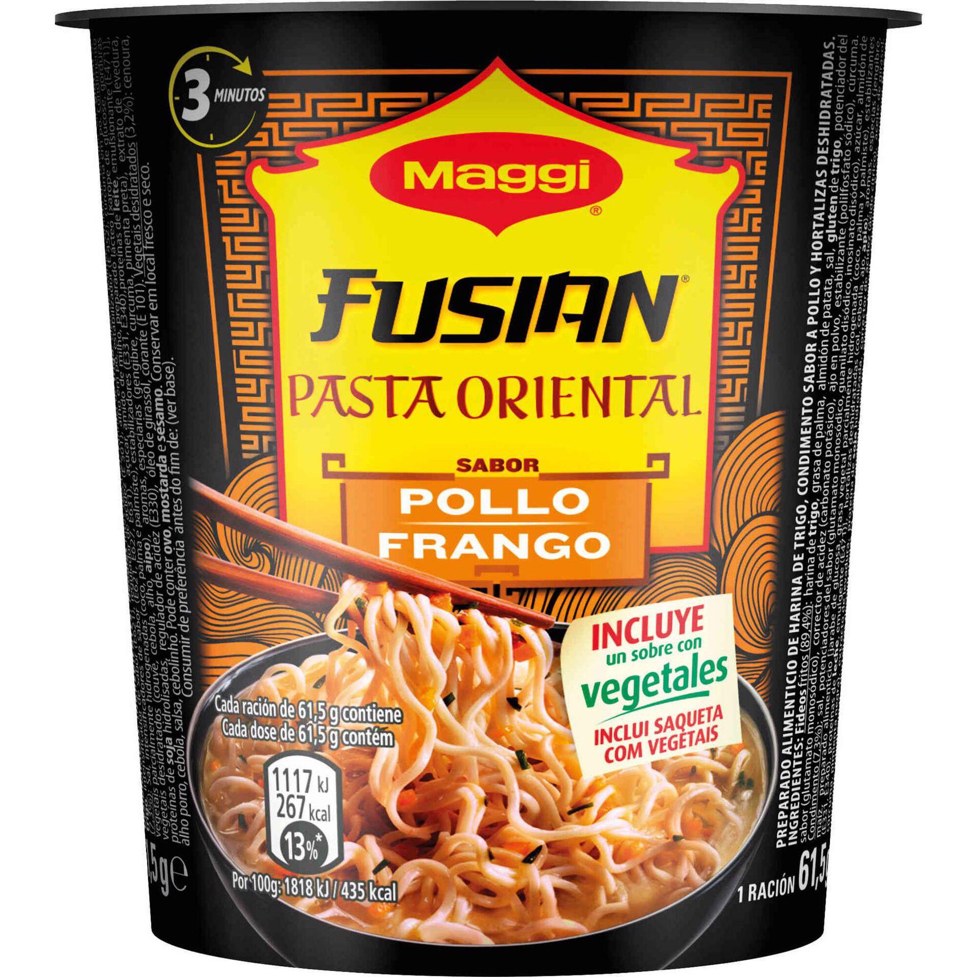 Noodles de Frango Pasta Oriental Cup