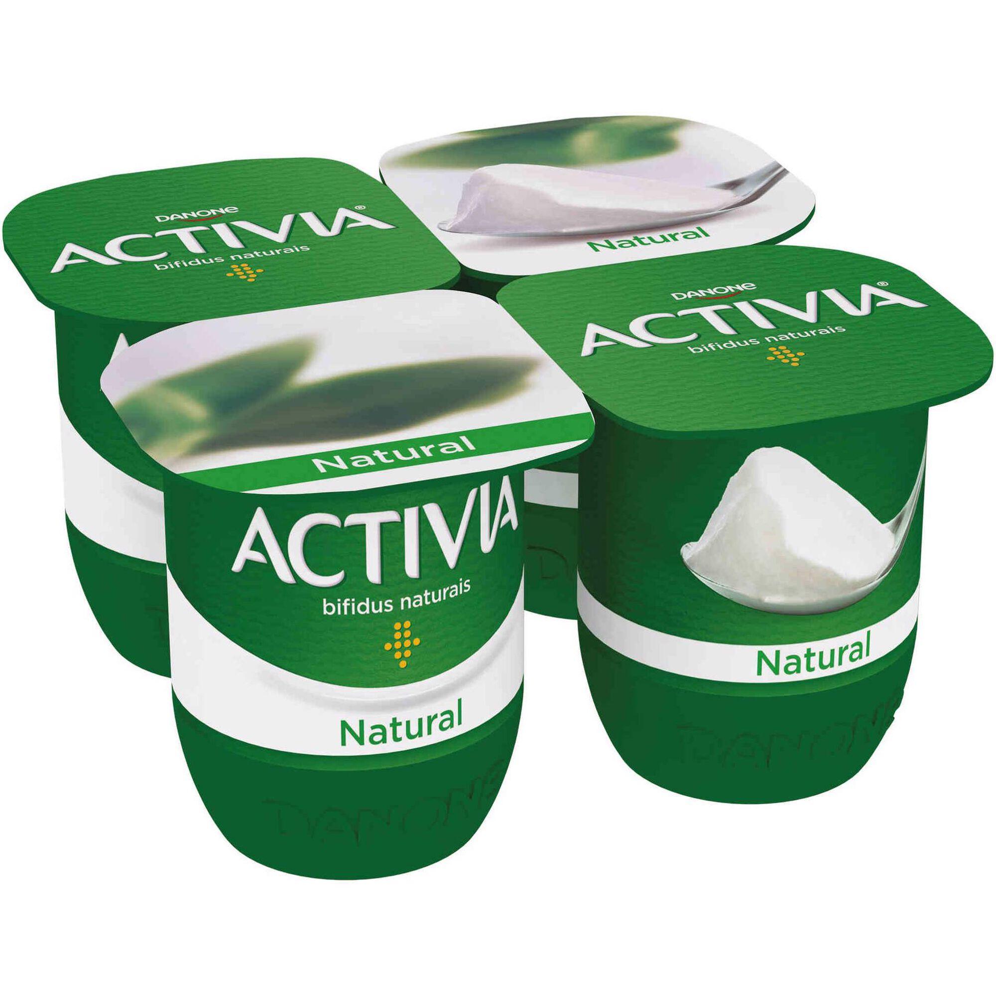 Iogurte Bifidus Probióticos Natural Activia