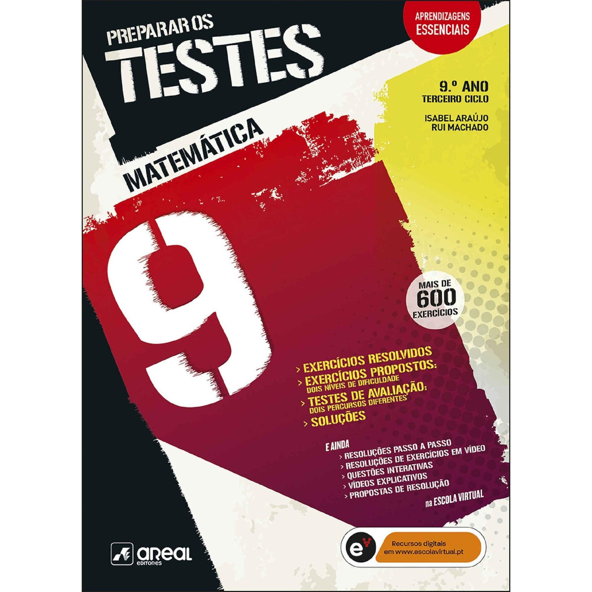Preparar os Testes - Matemática - 9º Ano