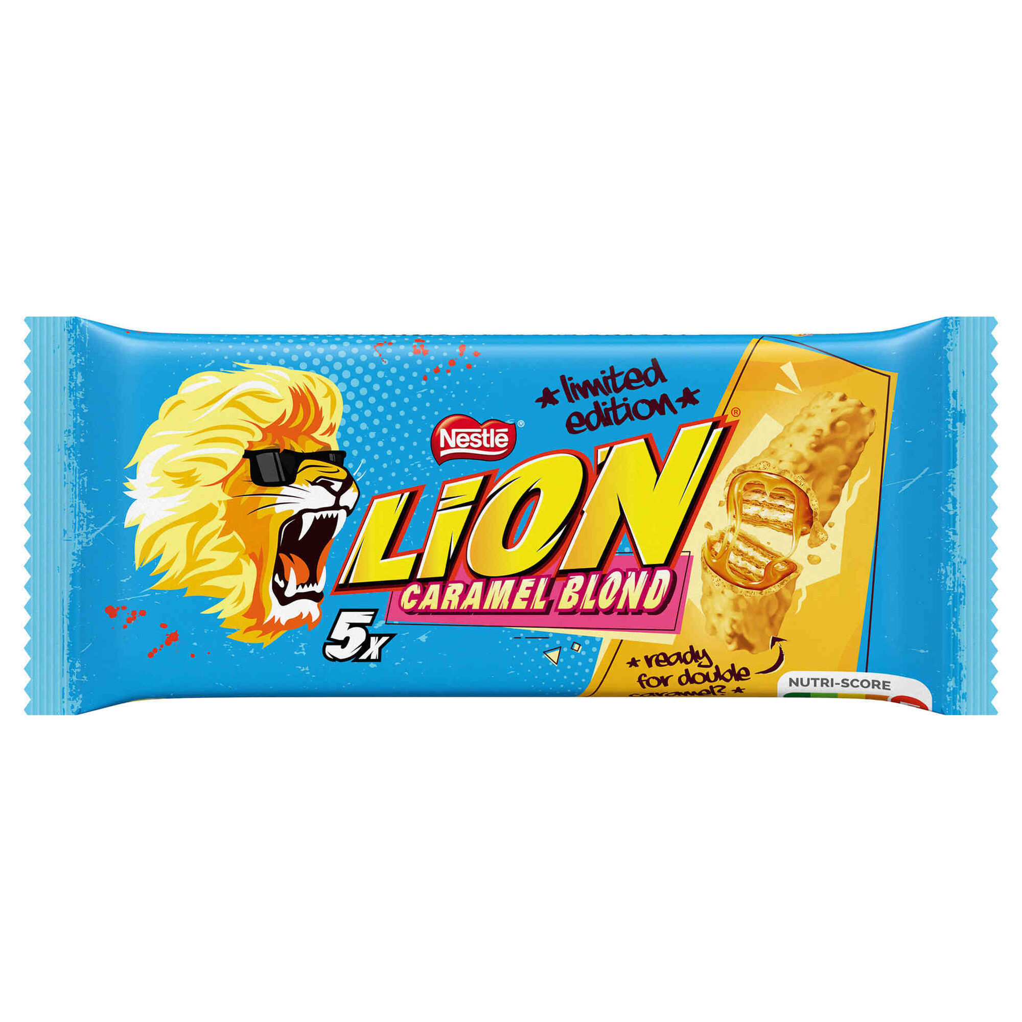 Snack de Chocolate de Leite Caramel Blond Lion