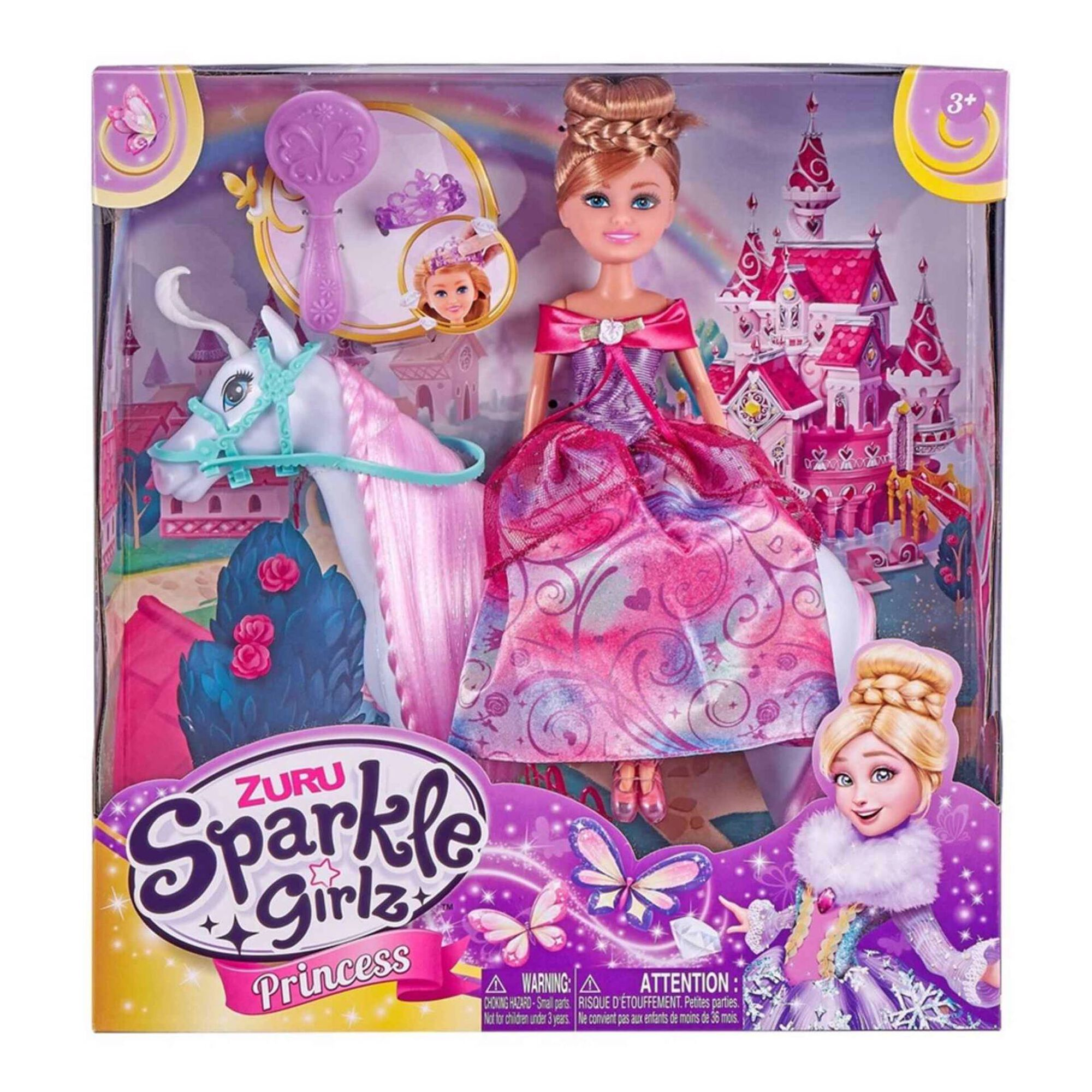 Princesa Sparkle Girlz com Cavalo