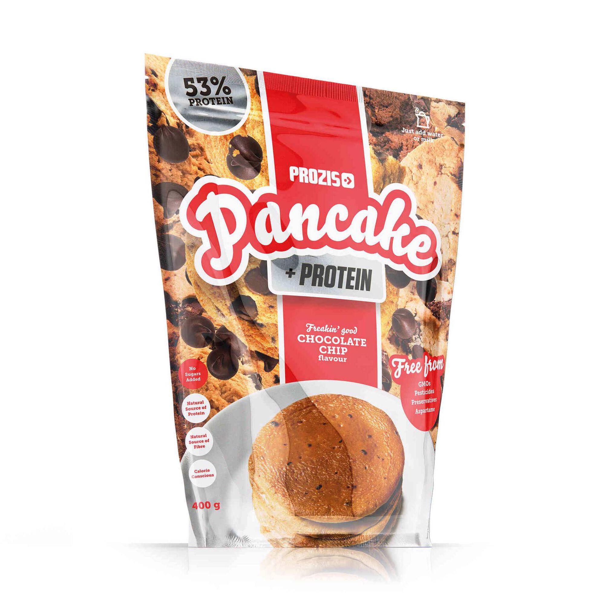 Pancake + Protein Panquecas de Aveia com Proteína Pepitas de Chocolate Biológicas