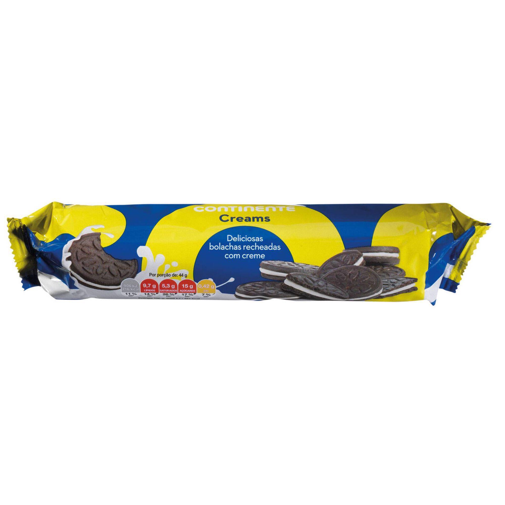 Bolachas de Chocolate com Recheio de Creme