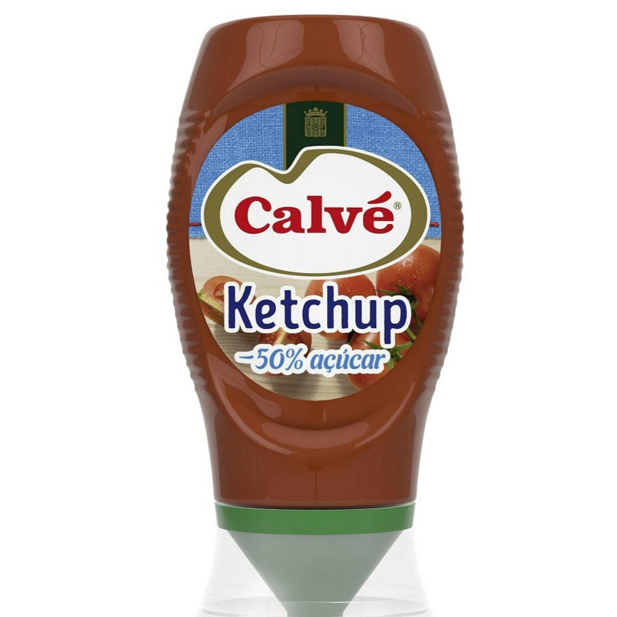Ketchup -50% Açúcar Top Down