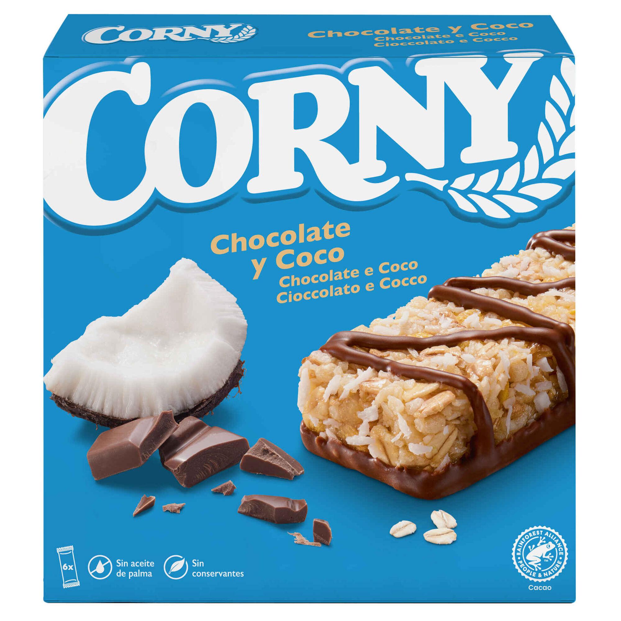 Barras de Cereais Coco com Chocolate Muesly
