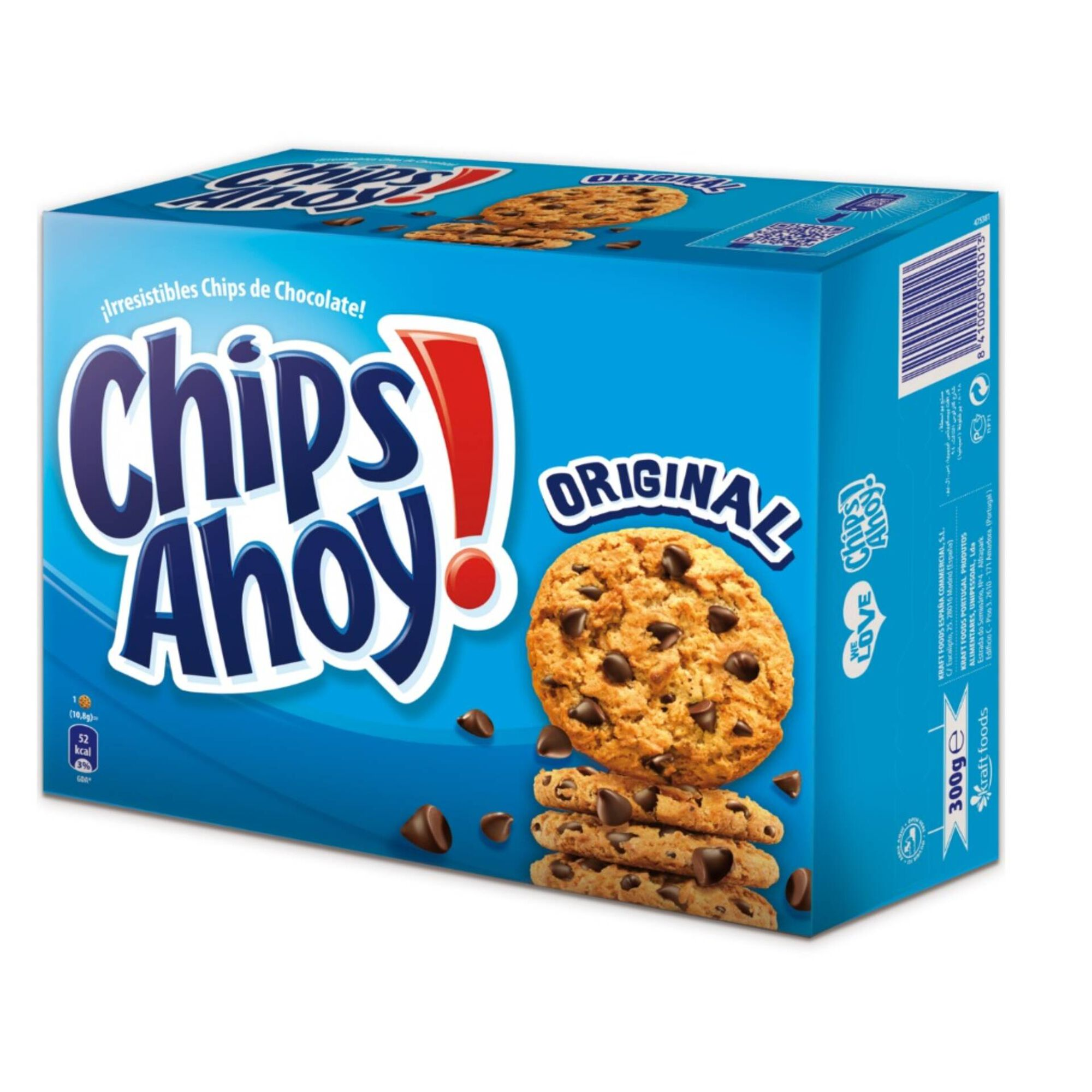 Bolachas Cookies Pepitas de Chocolate