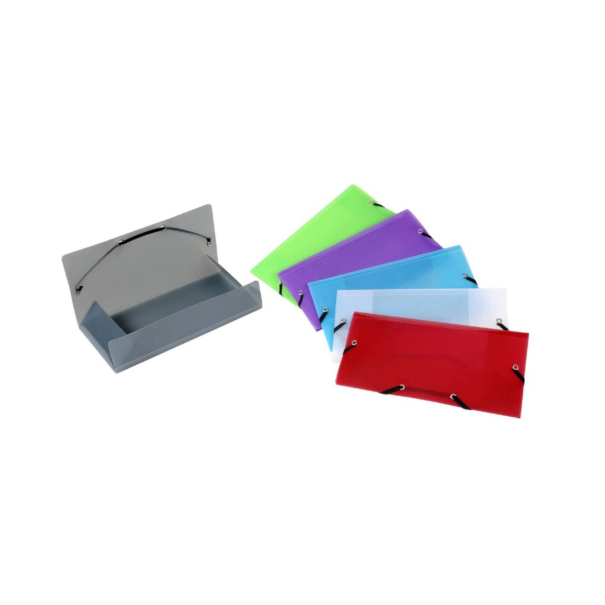Capa com Elástico A6 (várias cores)
