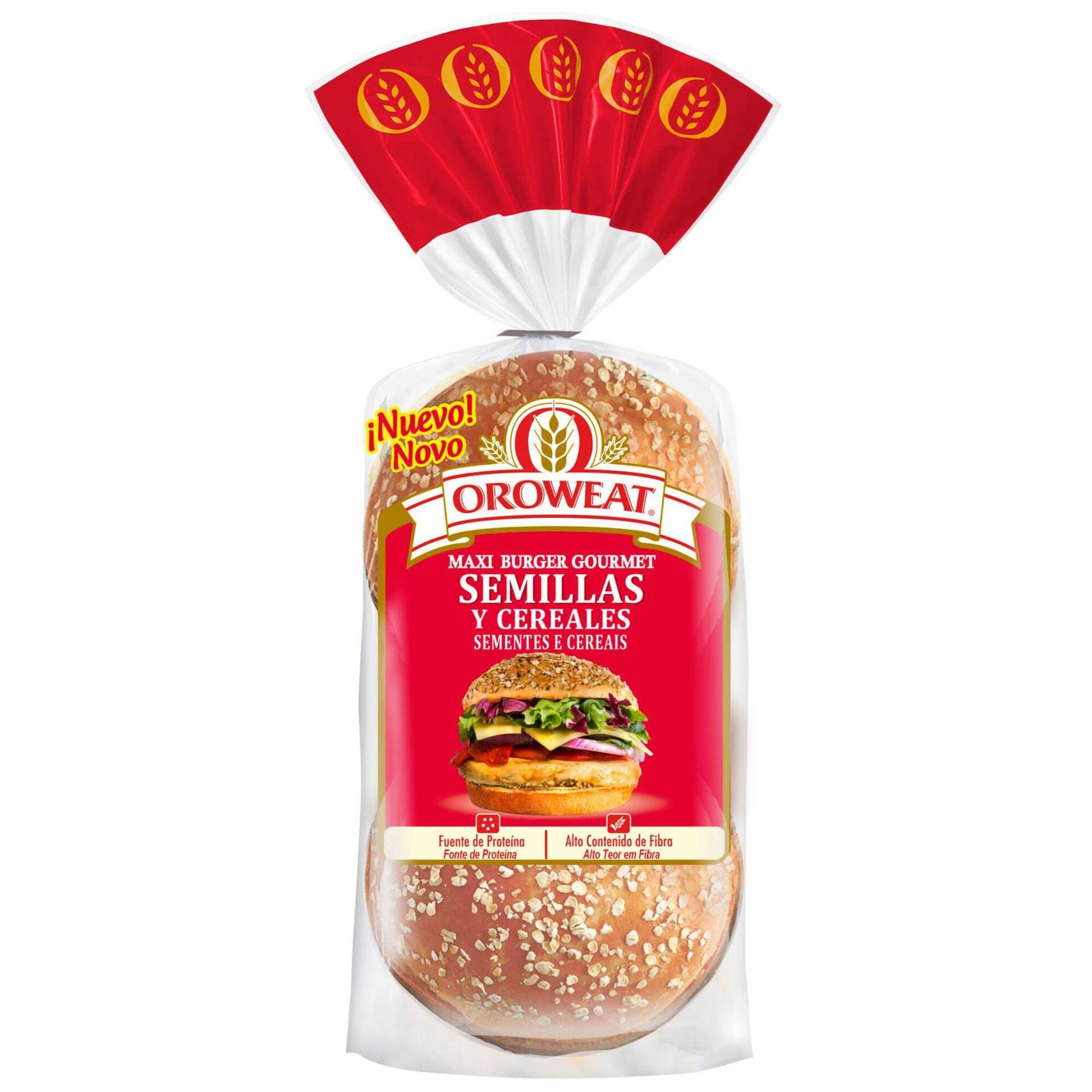 Pão de Hambúrguer Oroweat