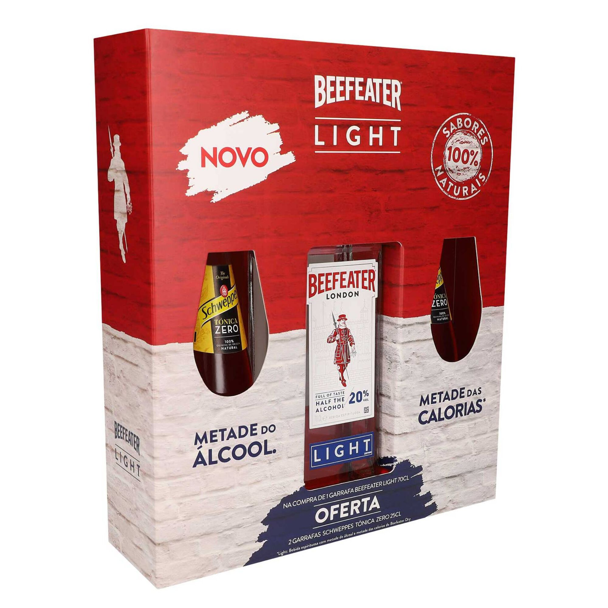 Bebida Espirituosa Beefeater Light com Oferta de 2 Águas Tónicas