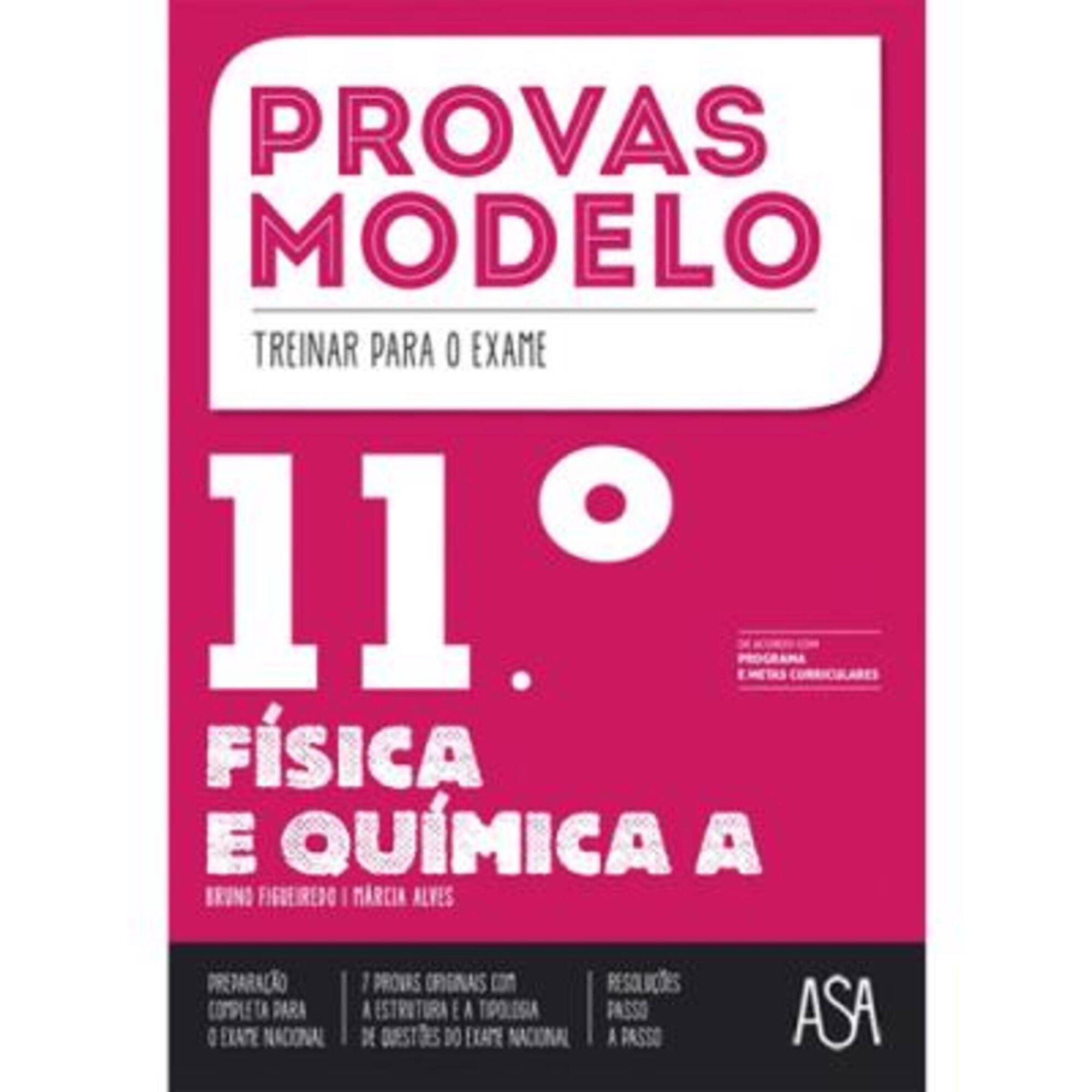 Provas Modelo - Físico-Química - 11º Ano