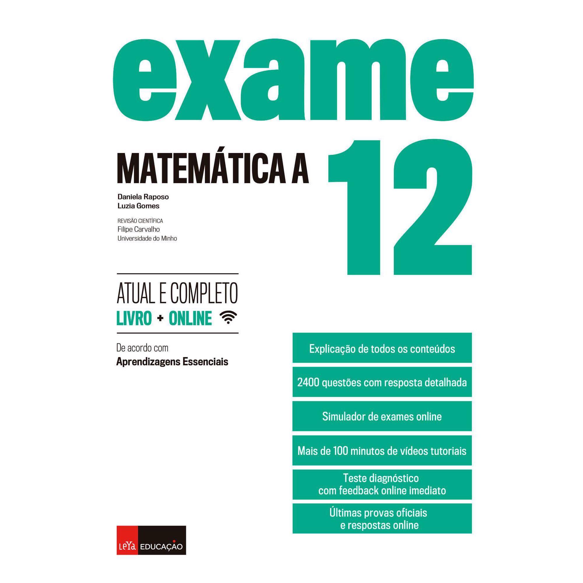 Exame - Prova Final Matemática A - 12º Ano