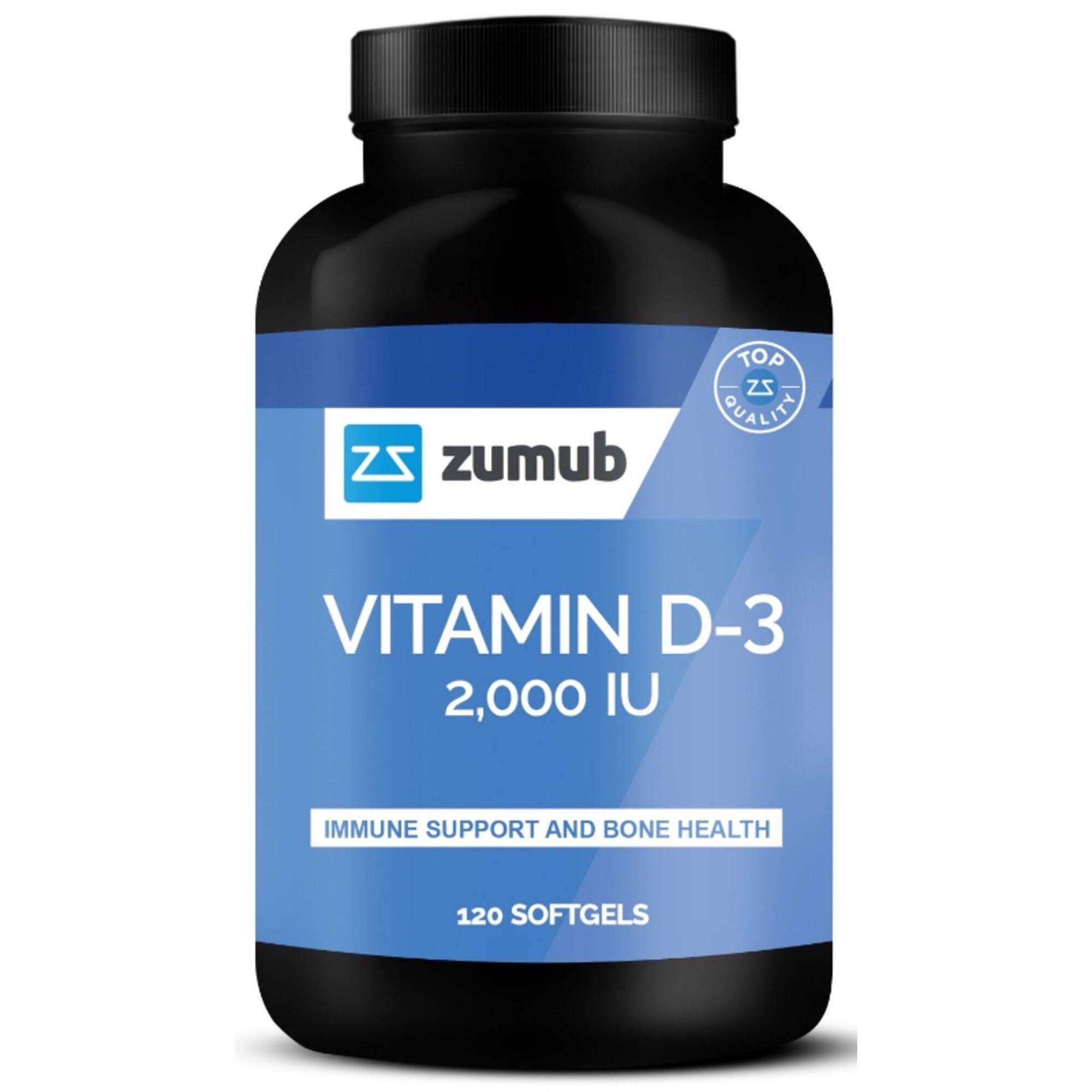 Suplemento Vitamina D-3