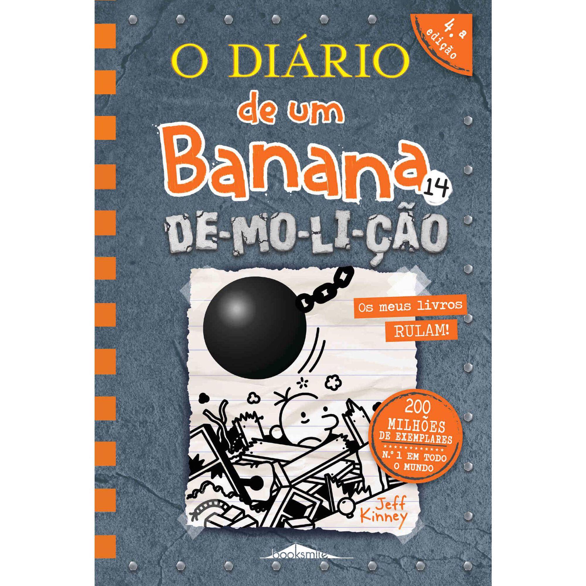 O Diário de um Banana 14 - De-mo-li-ção