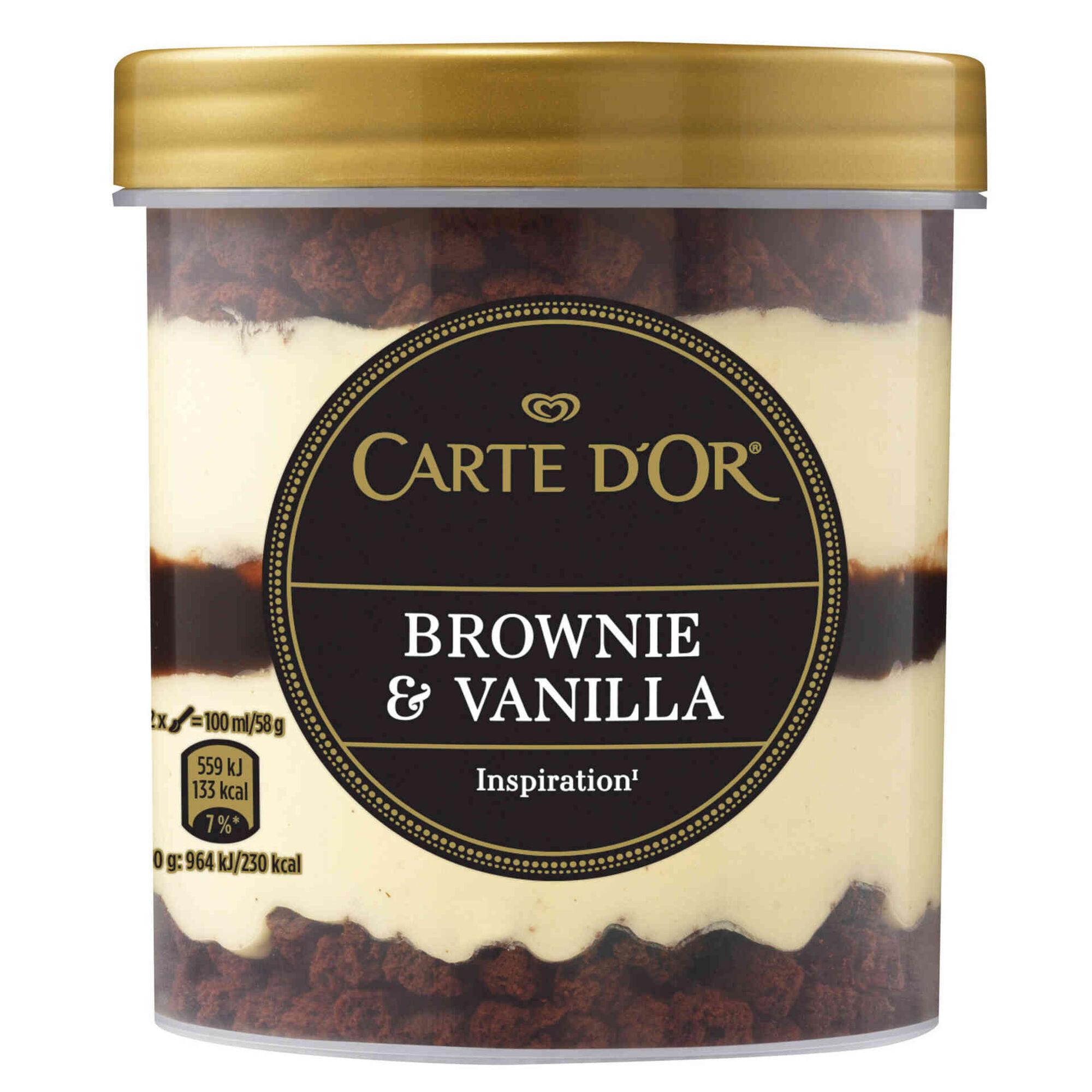 Gelado Brownie & Vanilla