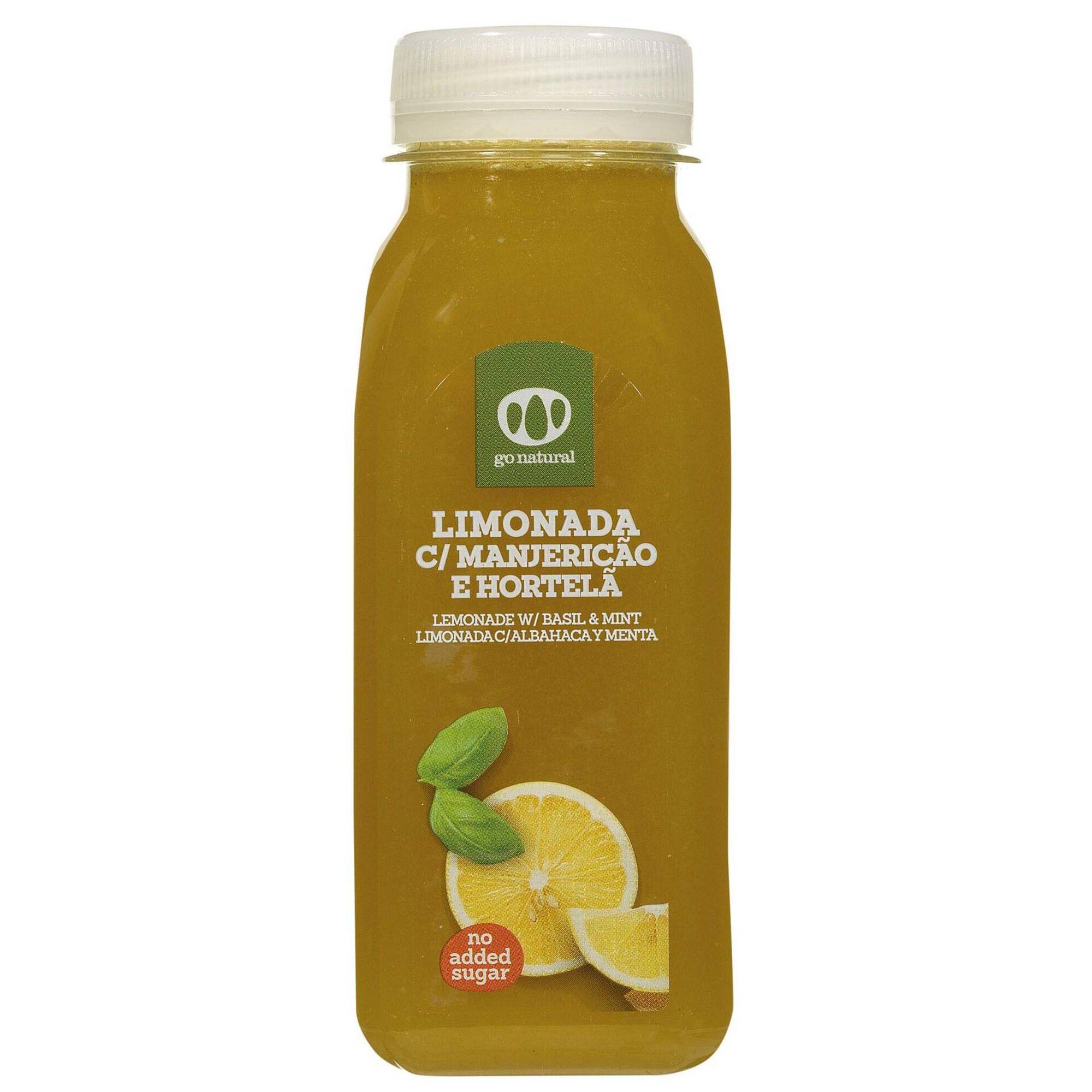 Limonada de Manjericão