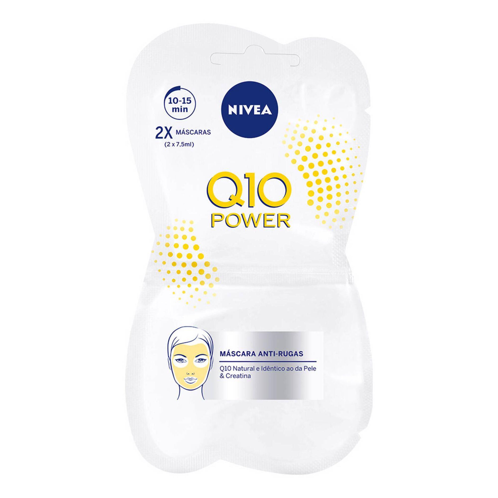 Máscara Facial Q10 Power Antirrugas