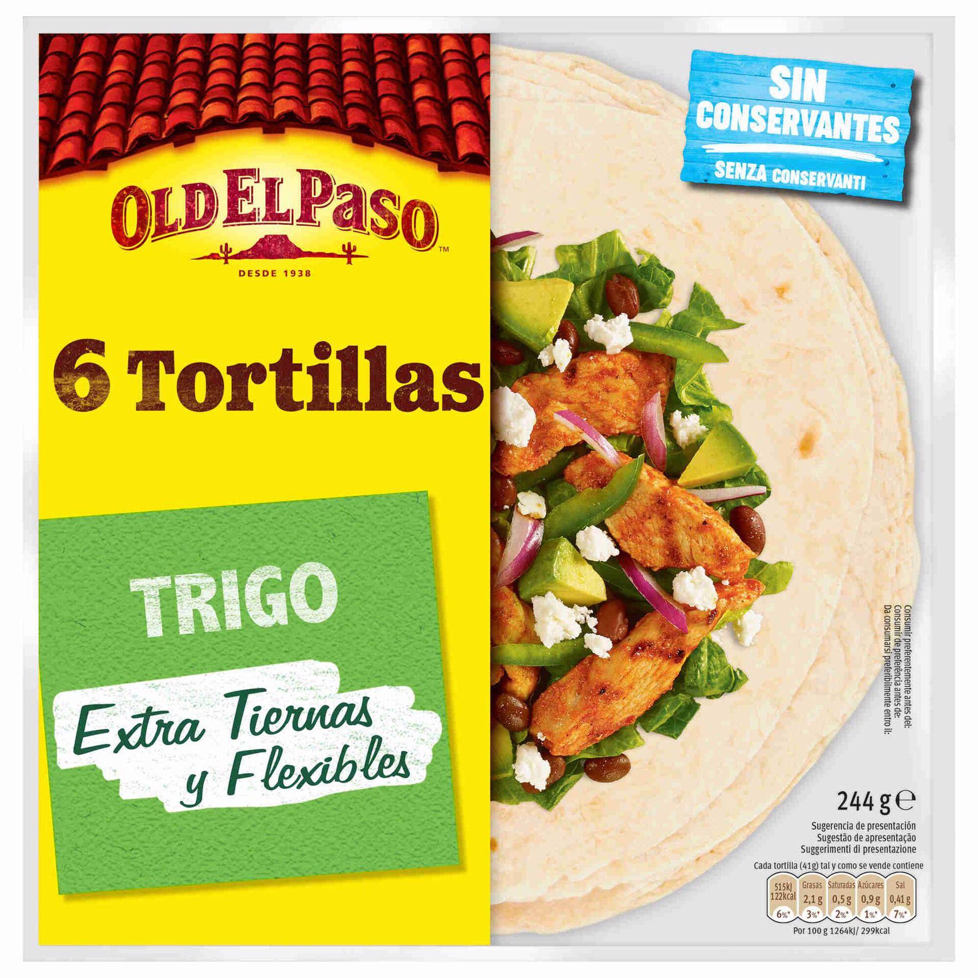 Tortilhas Mexicanas de Trigo