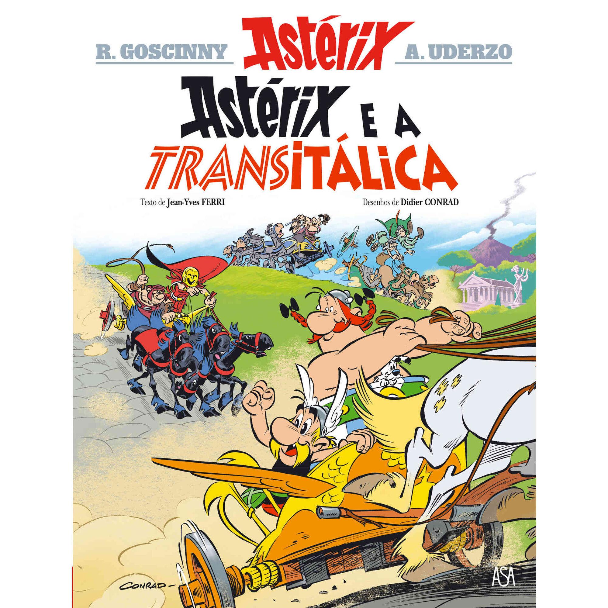 Astérix e a Transitálica (volume 37)