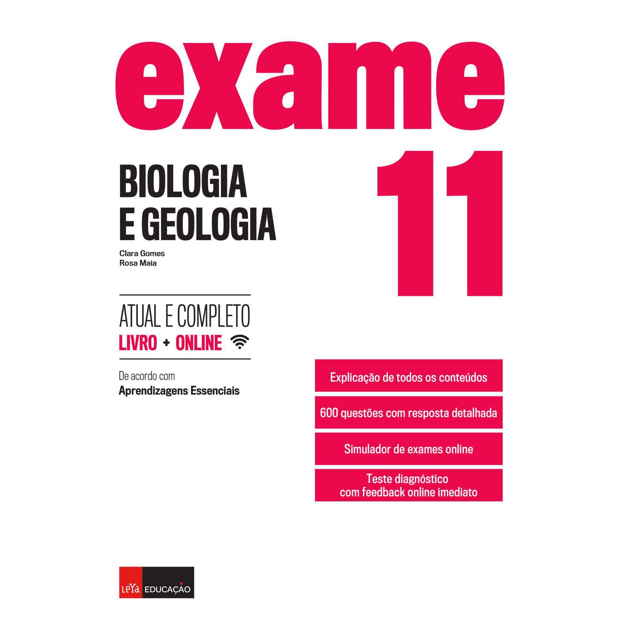 Exame - Biologia e Geologia - 11º Ano