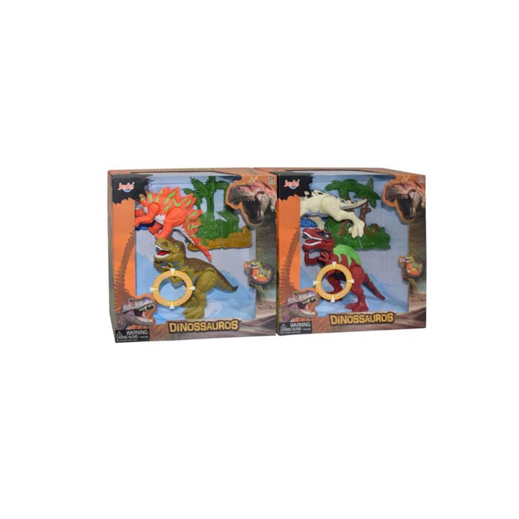 Conjunto de 2 Dinossauros (vários modelos)
