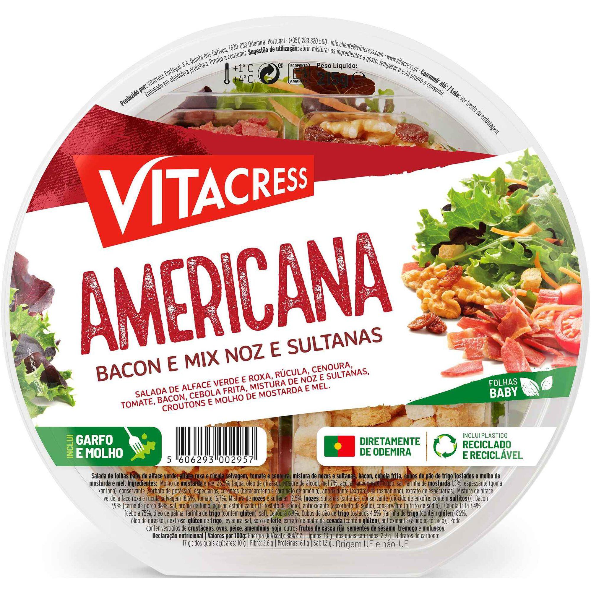 Salada Minute Americana