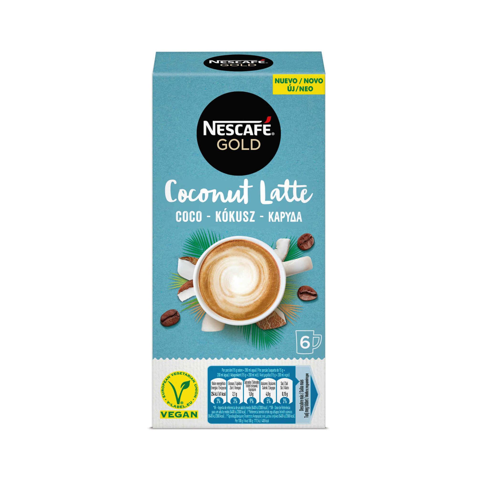 Café Solúvel Gold Coconut Latte