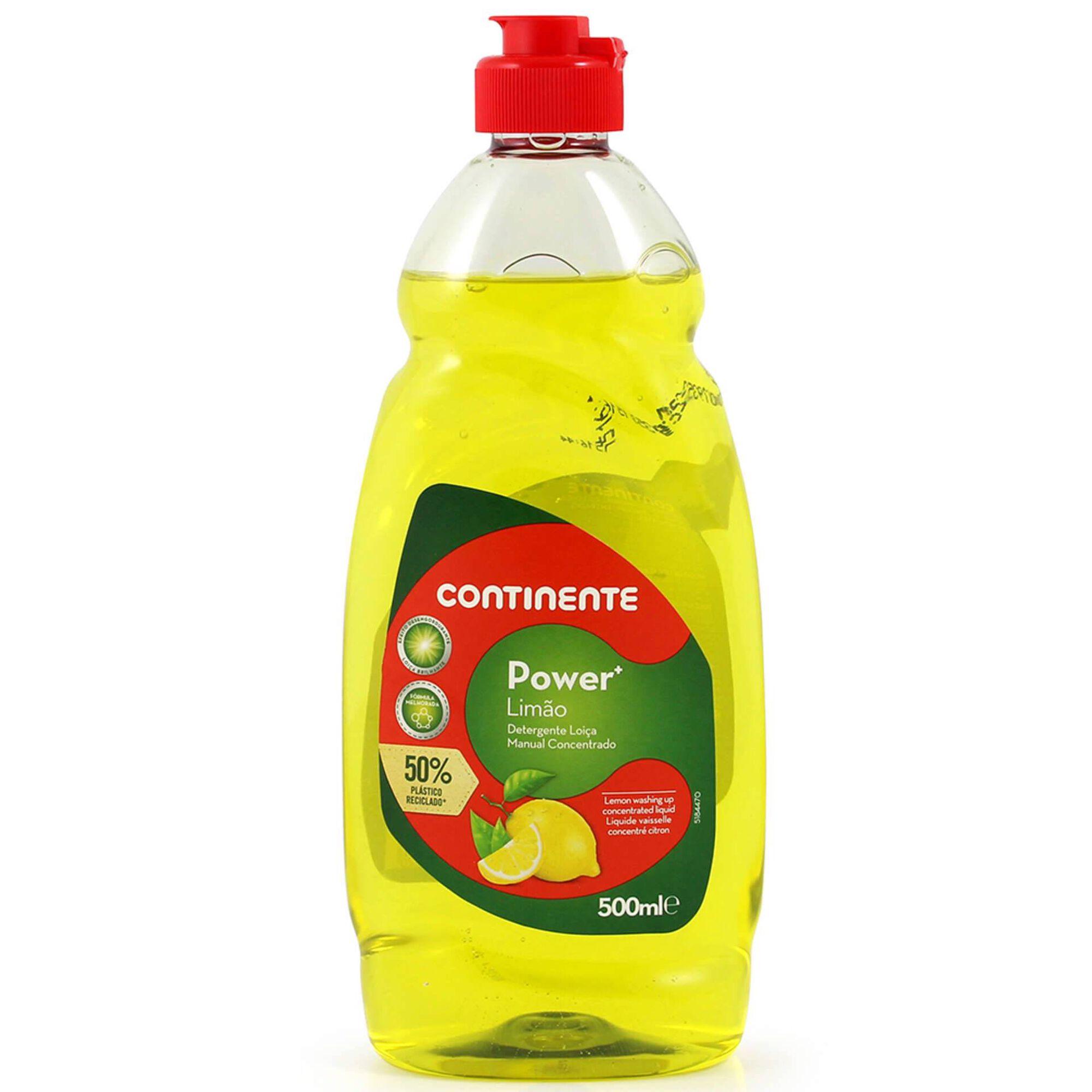 Detergente Manual Loiça Concentrado Power+ Limão