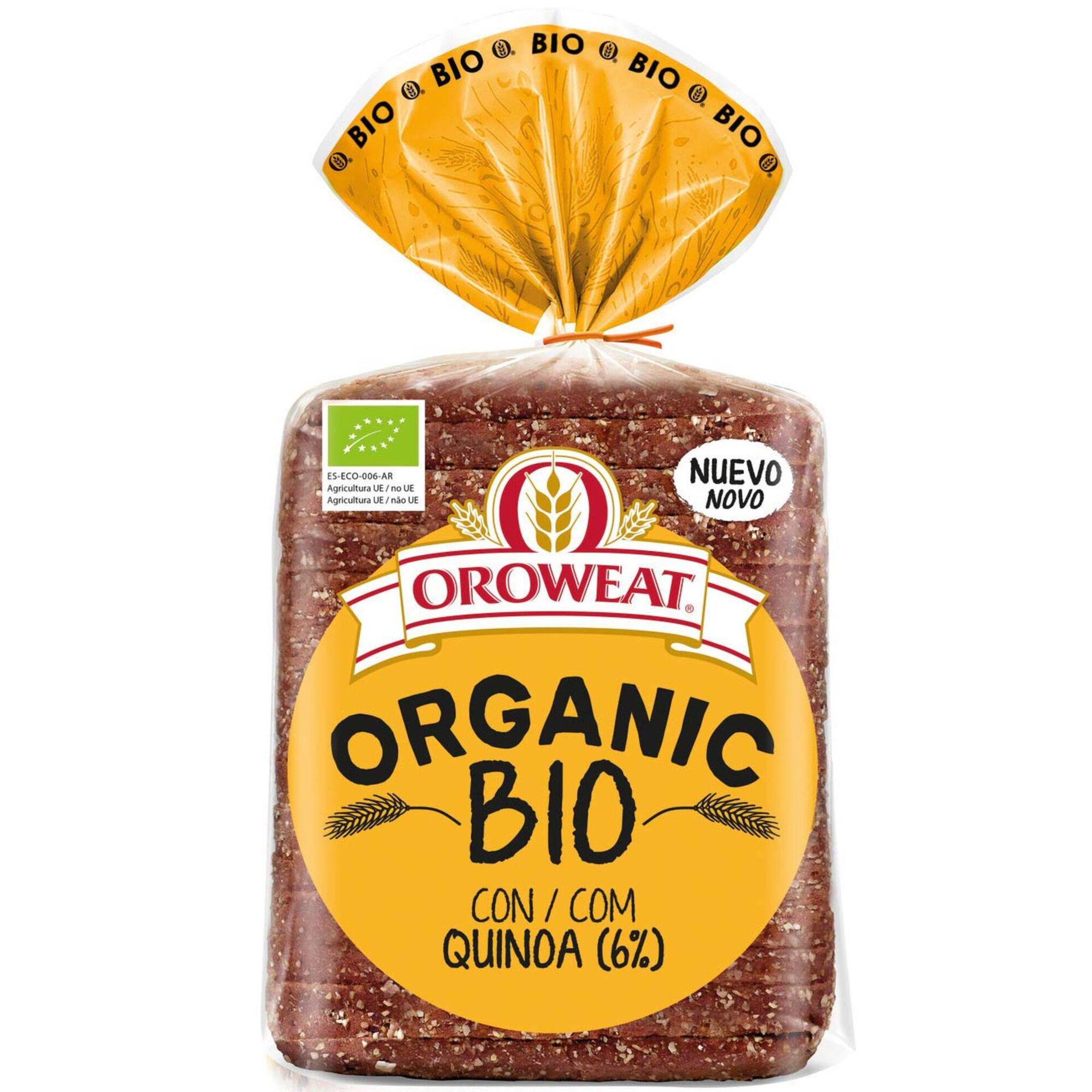 Pão de Quinoa Biológico Oroweat