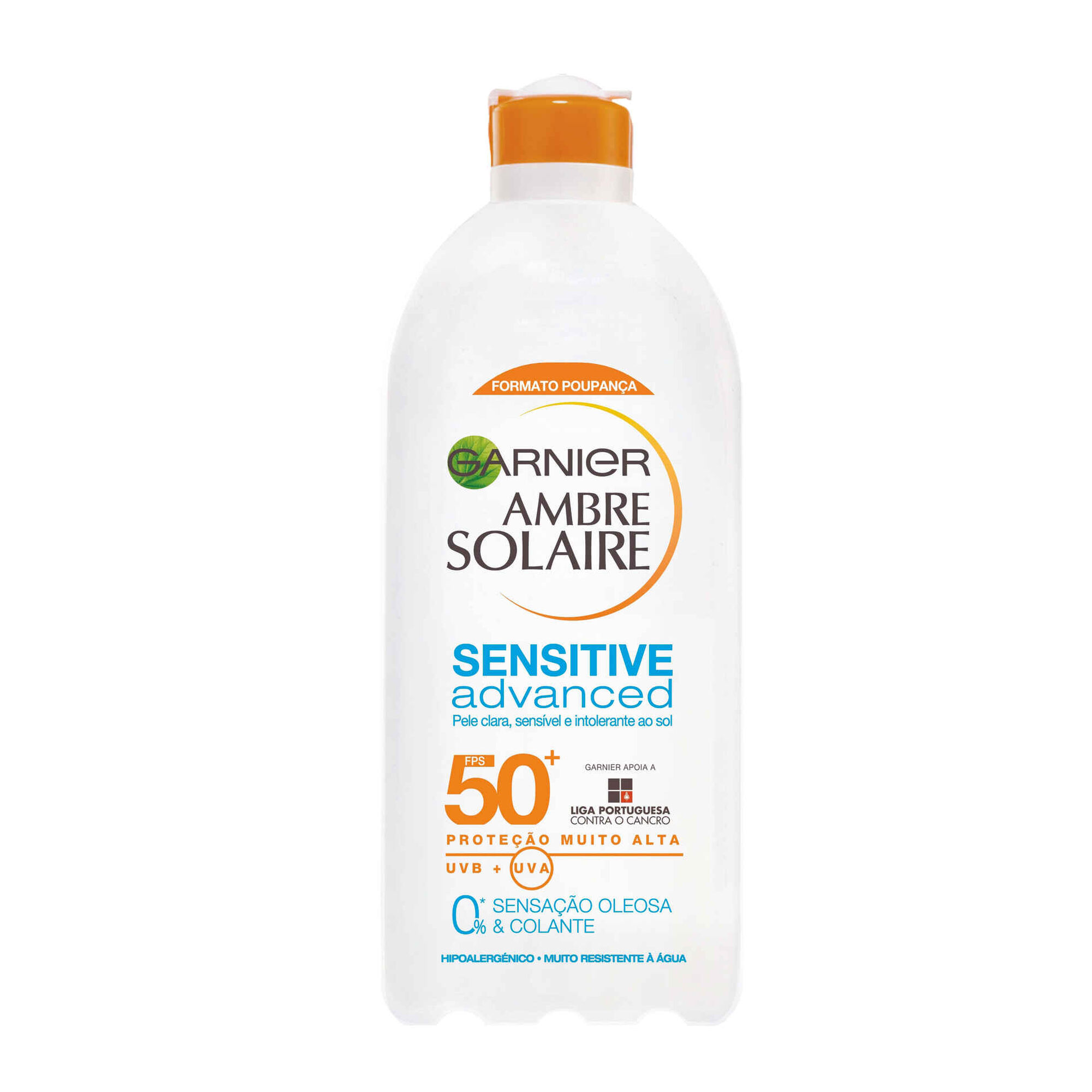 Protetor Solar Leite Ambre Solaire Sensitive Advanced FP50+
