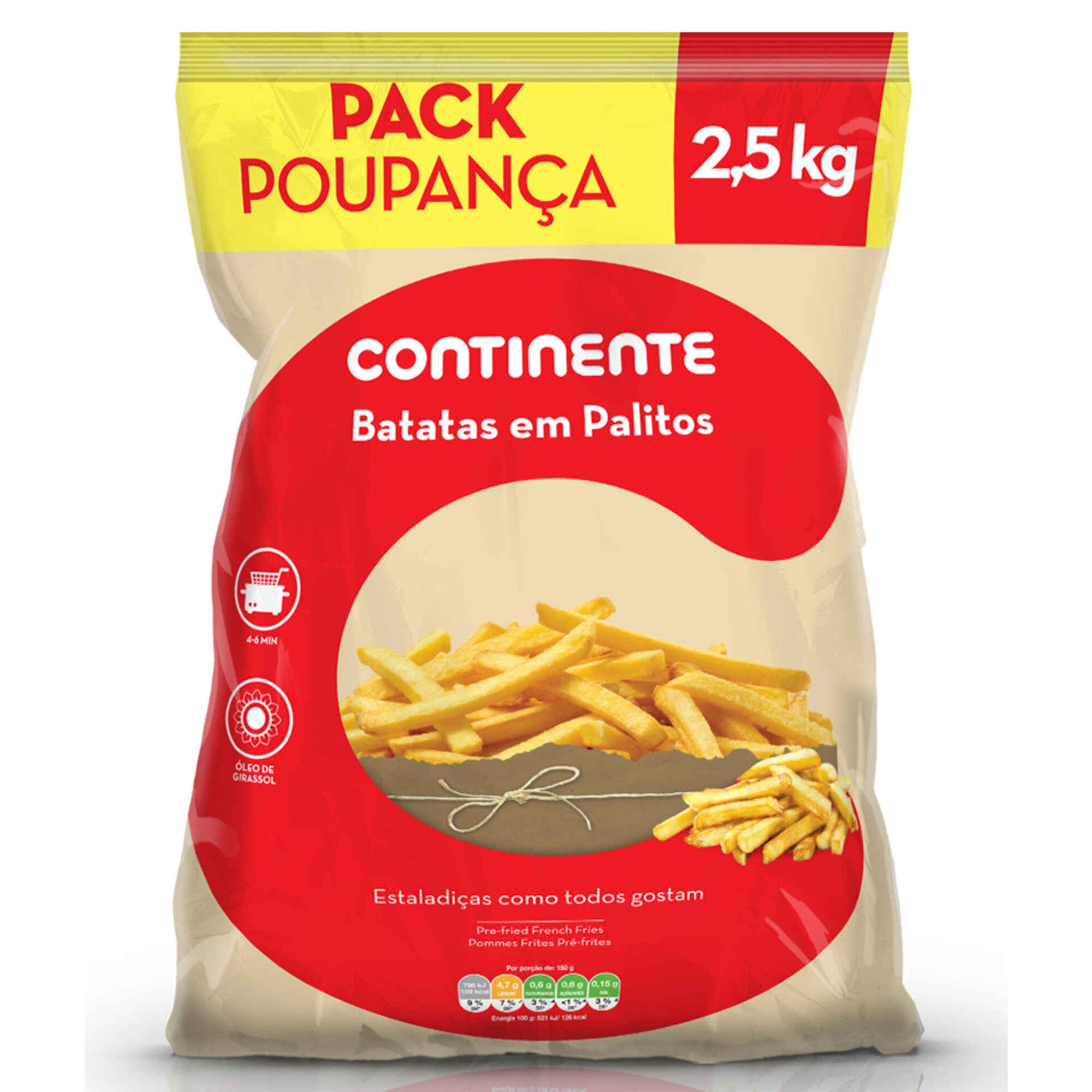 Batata Palitos Pack Poupança
