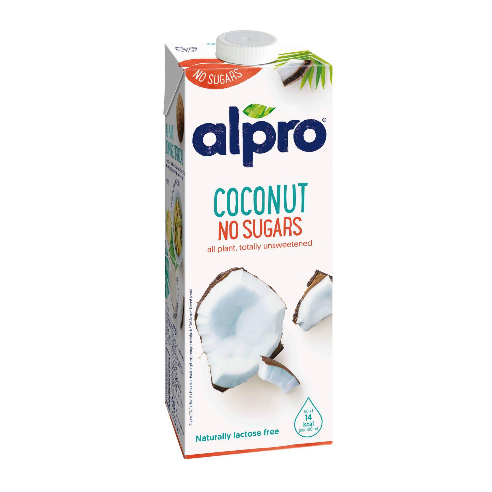 Bebida Vegetal de Coco sem Açúcar