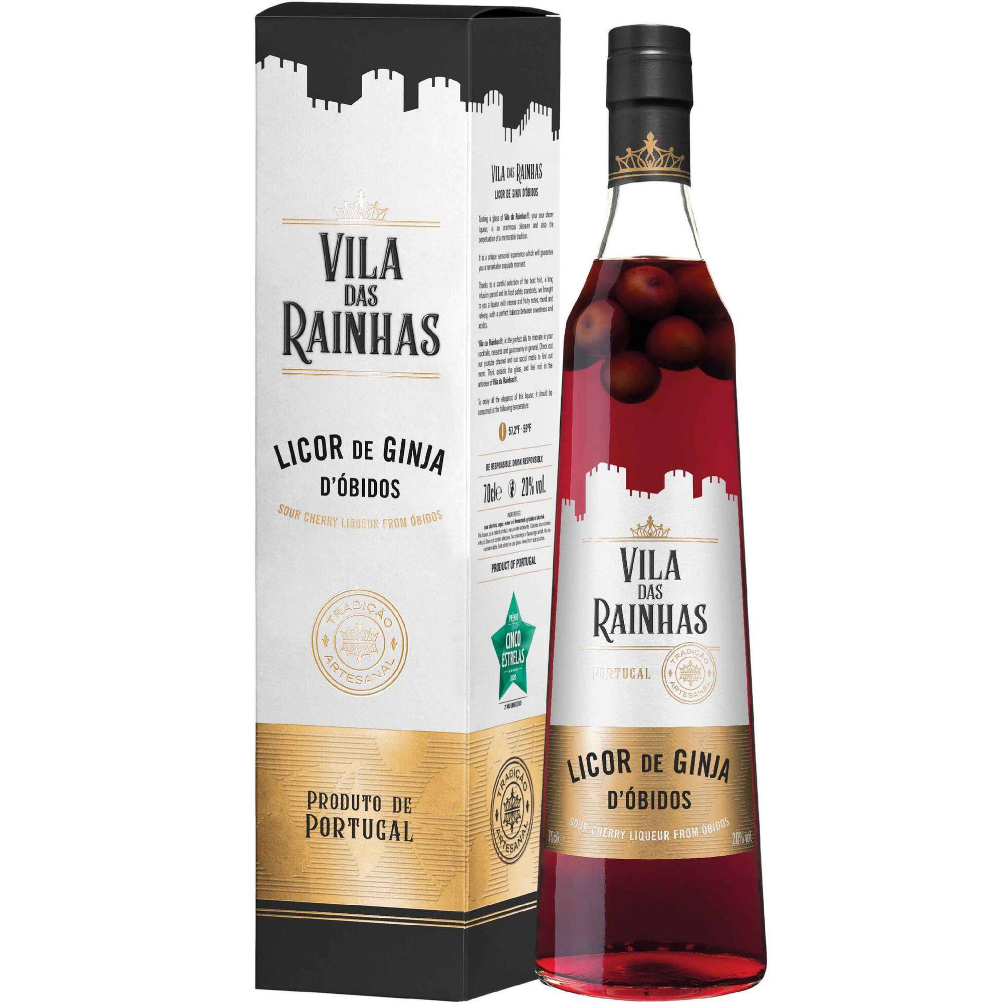 Licor de Ginja d'Óbidos com Fruto Vila das Rainhas
