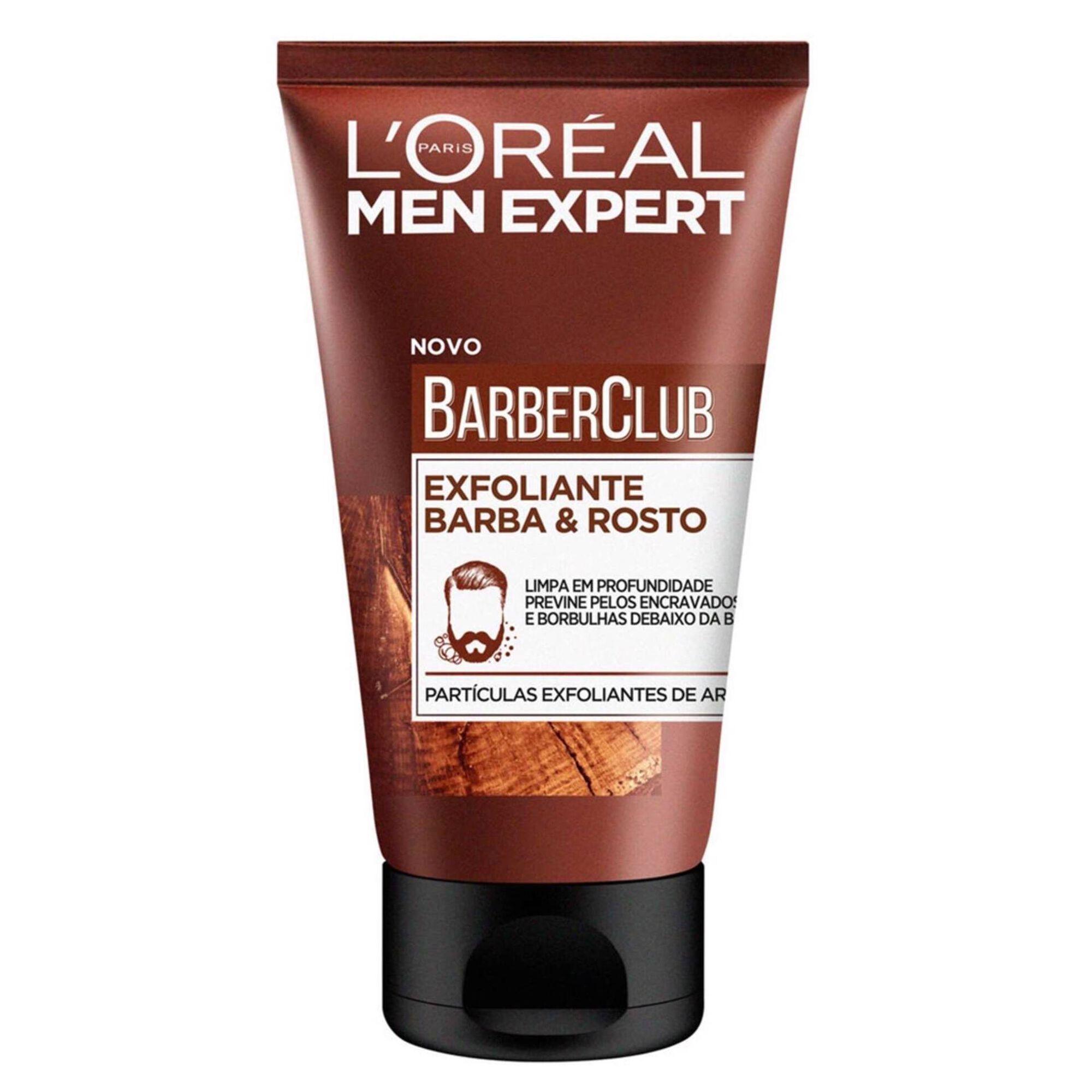 Exfoliante Barba e Rosto Men Expert Barber Club