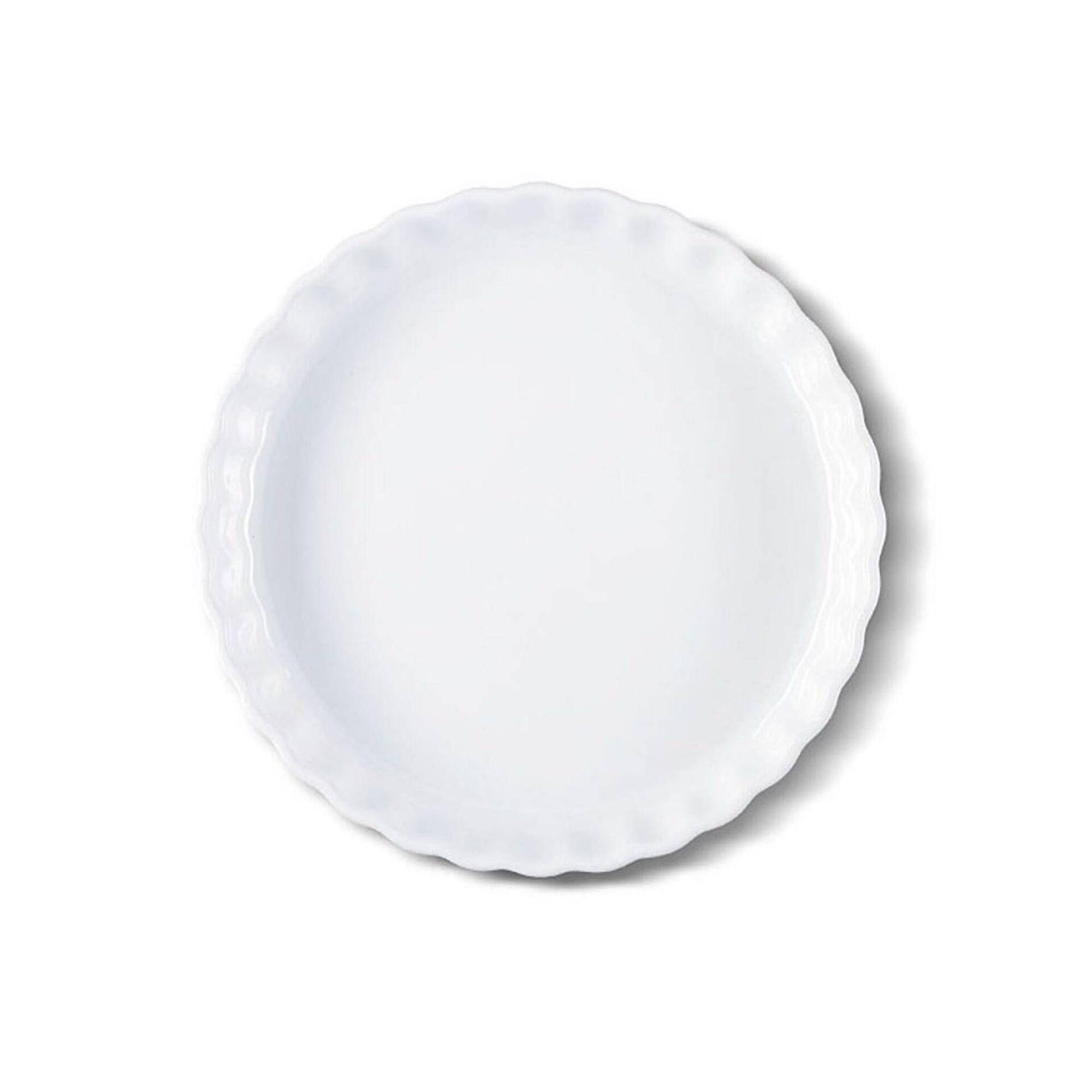 Tarteira Grés 26cm Branca Oven