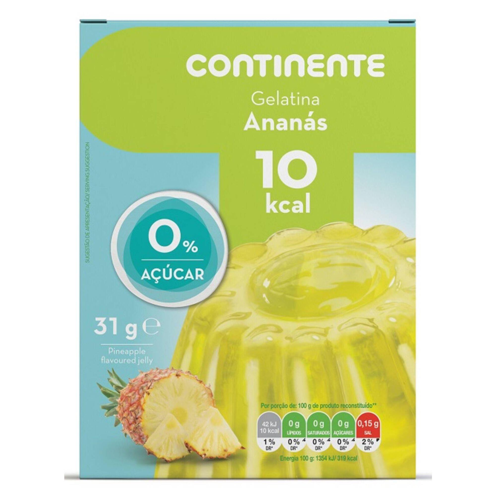 Gelatina Ananás 0% Açúcar