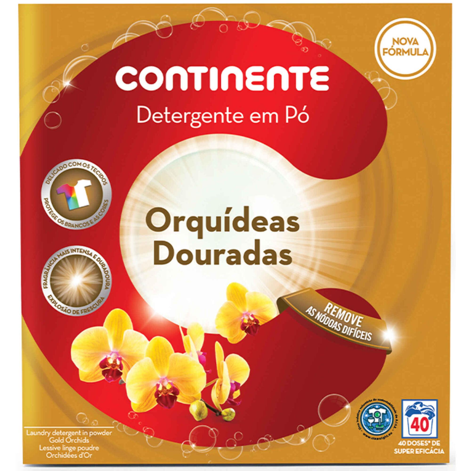 Detergente Máquina Roupa Pó Orquídea Dourada