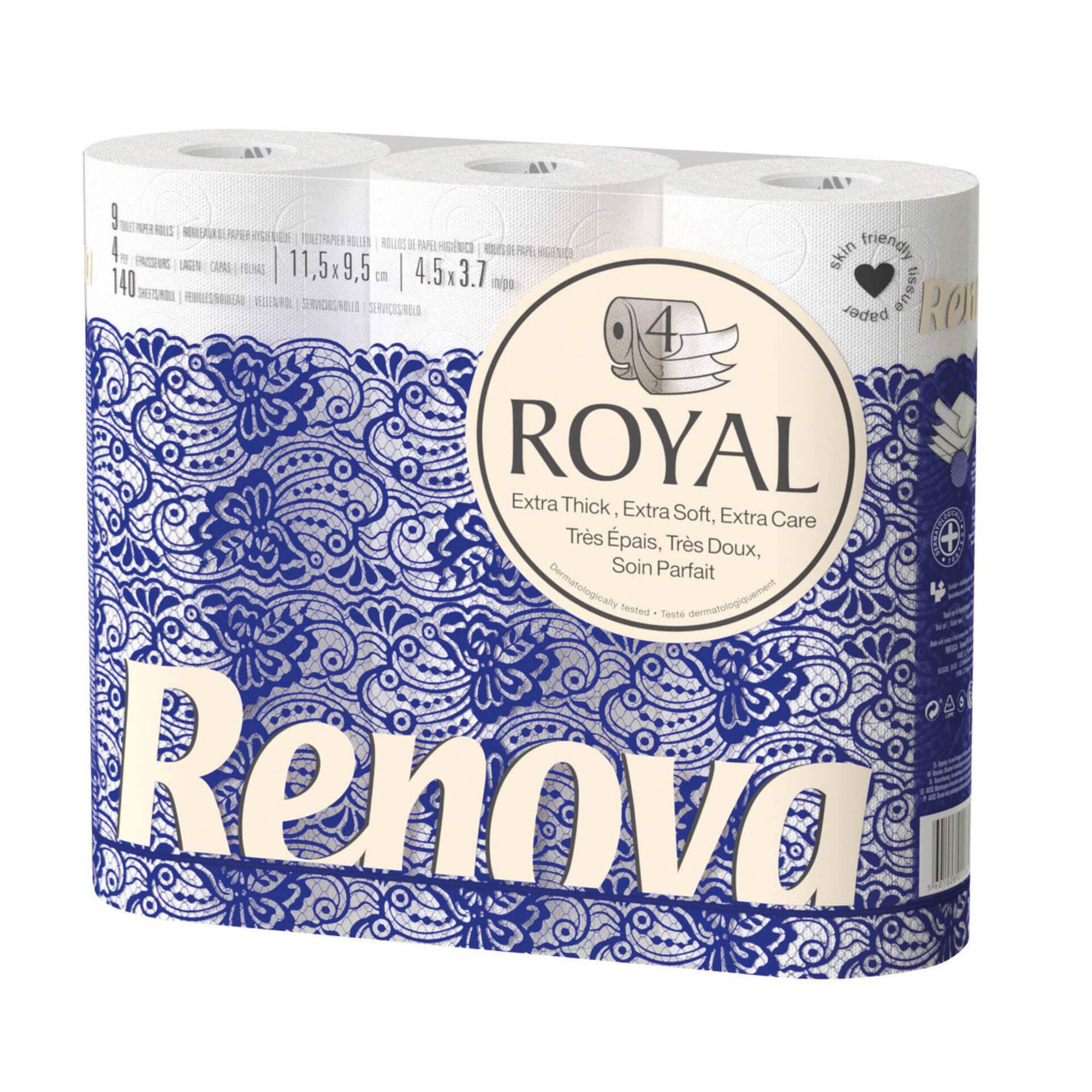 Papel Higiénico 4 Folhas Royal