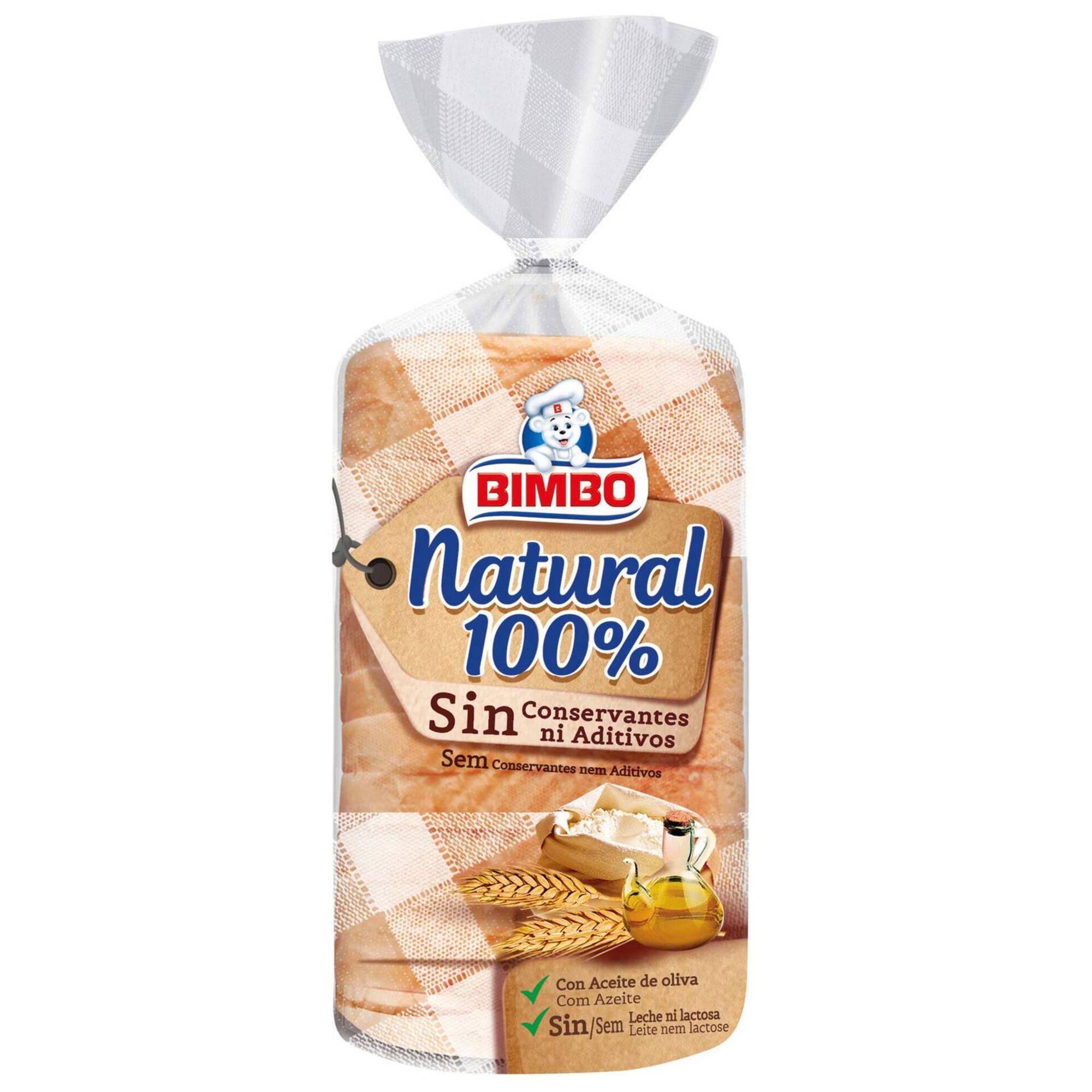 Pão de Forma 100% Natural com côdea