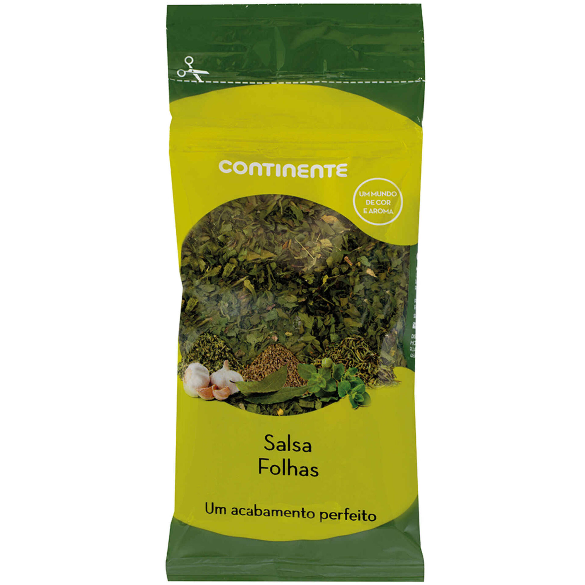 Salsa Folha em Saqueta